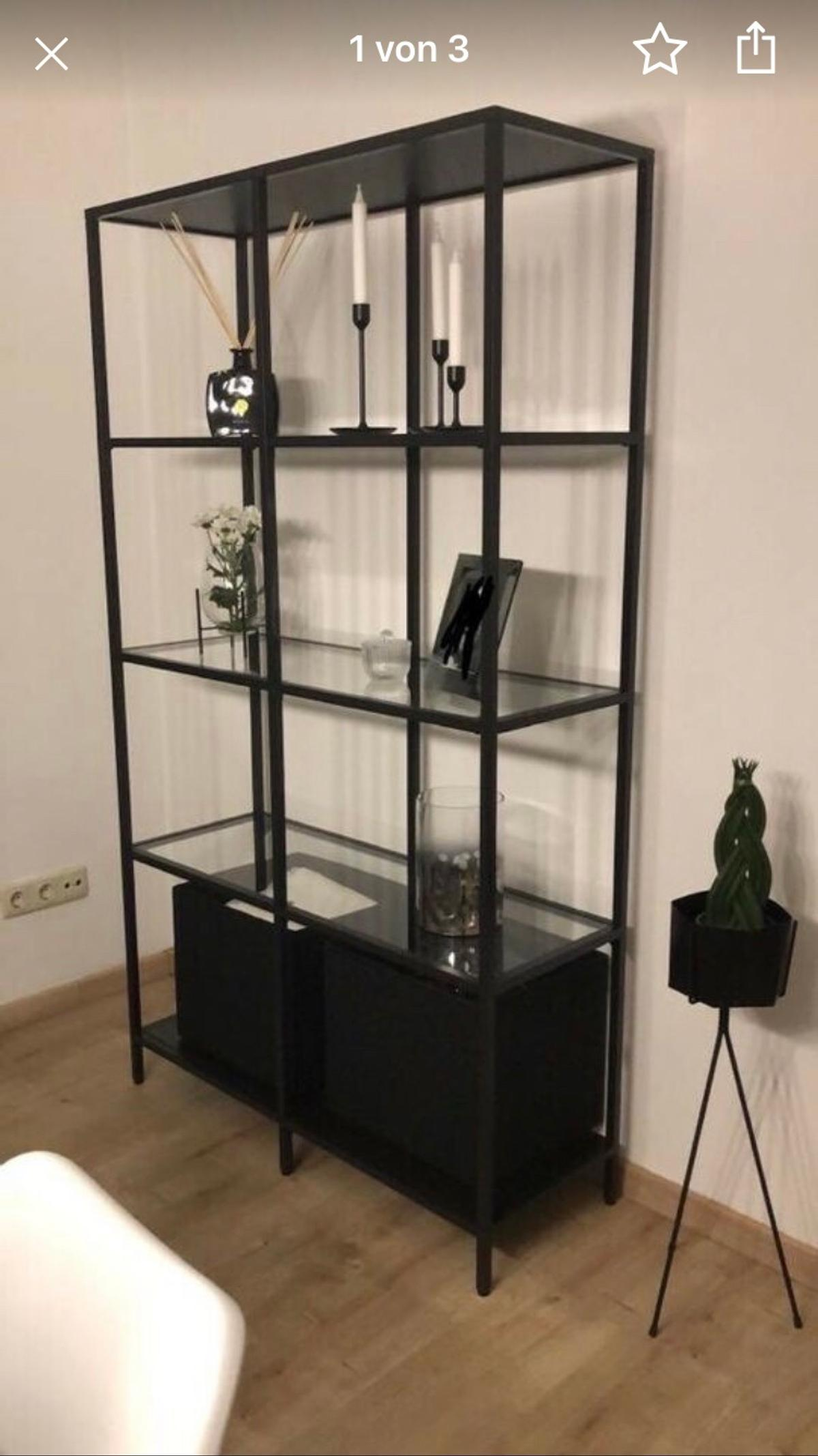 Ikea Schwarzbraun Regal In 85435 Erding For 55 00 For Sale Shpock