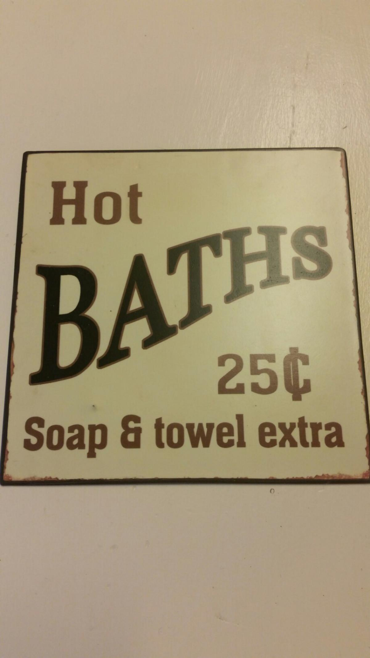 Metal Bathroom Sign In B90 Solihull For