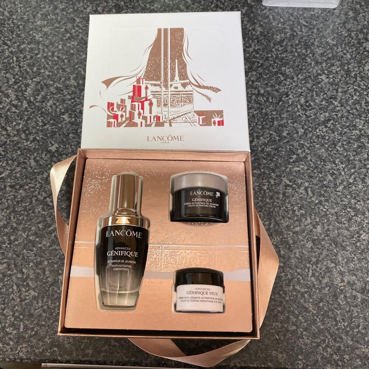 Brand new Lancôme youth activating gift set Lancôme youth activating concentrate 30ml Lancôme youth activating cream 15ml Lancôme youth activating soothing eye cream 5ml No time wasters