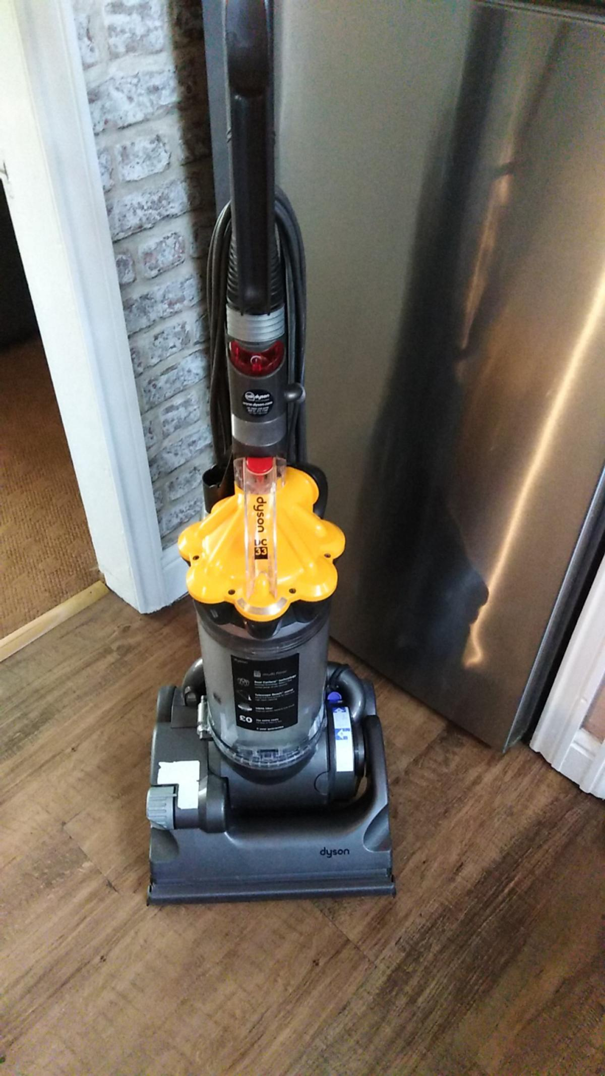 Dyson in great condition has a great suction comes with tools can be shown fully working