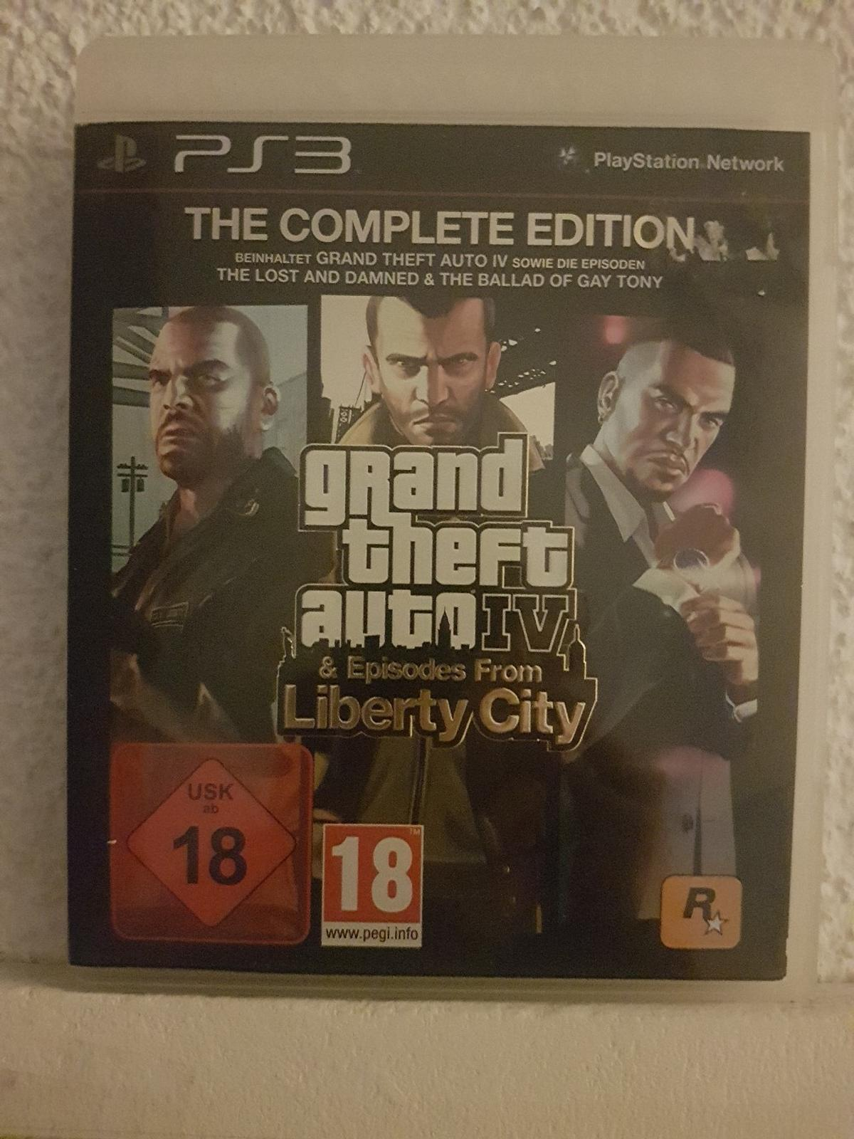 Beinhaltet -GRAND THEFT AUTO IV sowie die Episoden -THE LOST AND DAMNED & THE BALLAD OF GAY TONY