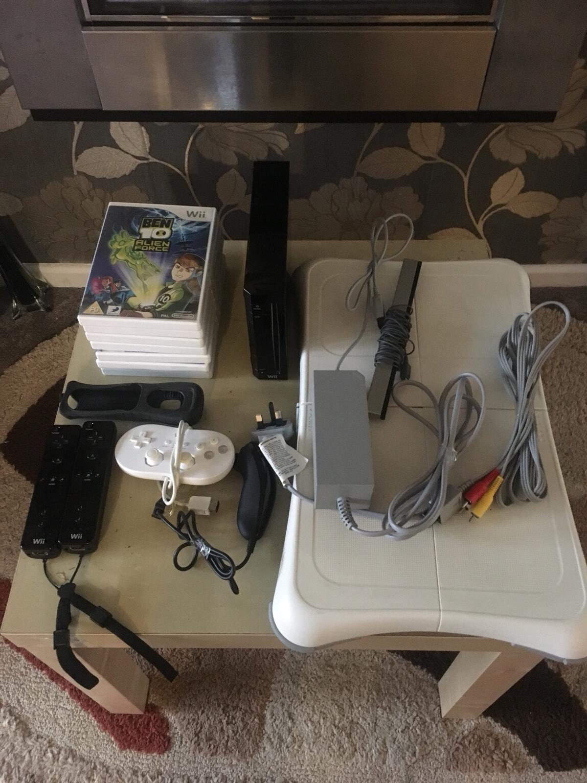 Nintendo Wii For Sale in excellent condition and perfect working order can be seen working before purchase.  What you get- All leads 2 remotes 1 nunchuck 1 hand held controller Wii board 7 games  Any questions please ask  £55  Can deliver for a small fee  Thanks  07904653054