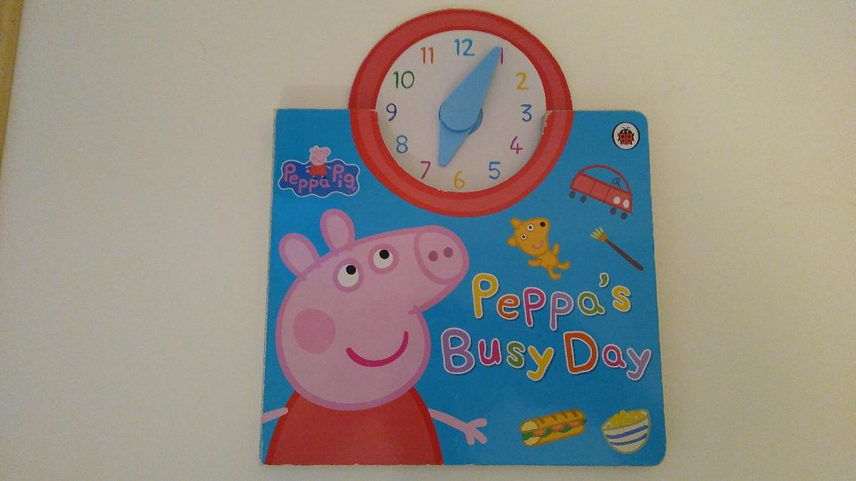Peppa's Busy Day Book! In Great Condition!