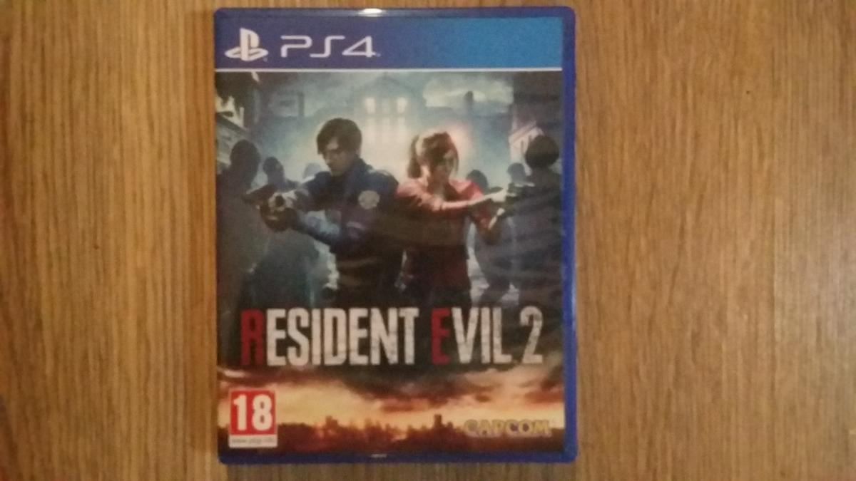 Resident evil 2 remake ps4.. unwanted Christmas gift, brand new