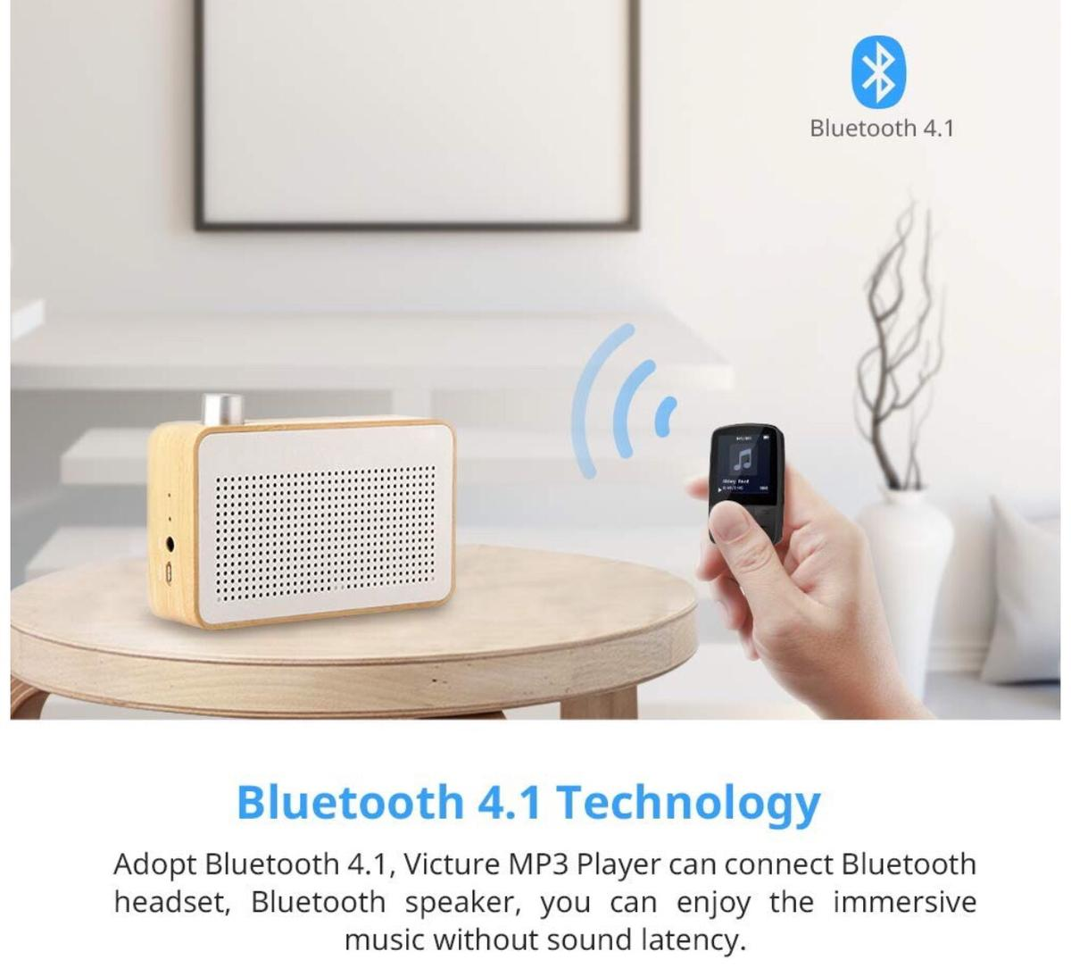 Compact clip design. Match Bluetooth headsets for sports. Match the connected speakers anywhere.