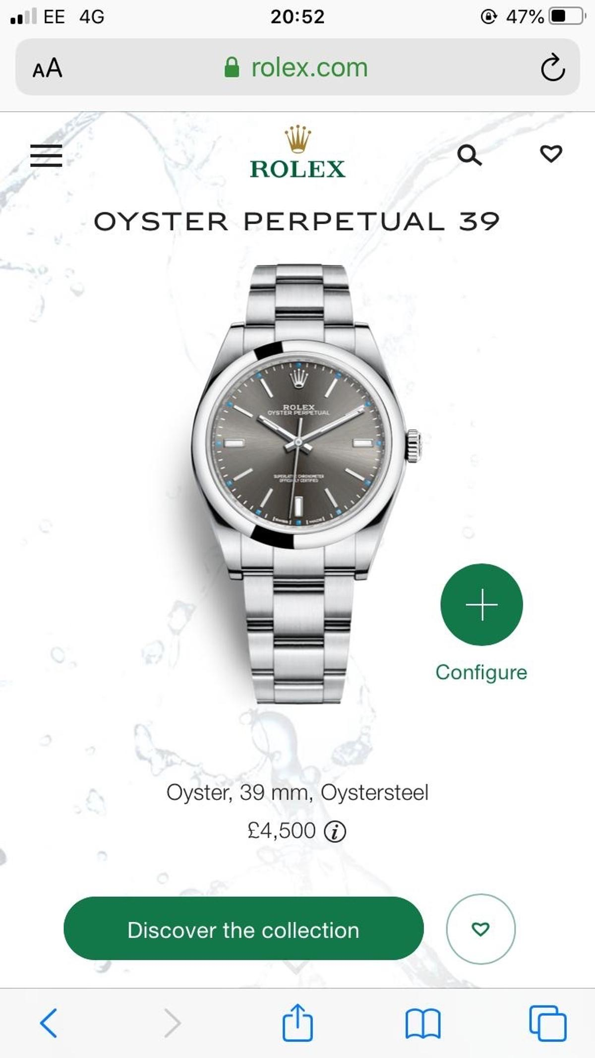 BRAND NEW 2020 WATCH  CANNOT BE BOUGHT FROM ROLEX AS THE WATCH IS A REGISTER ONLY ROLEX  £4700 ( SERIOUS BUYERS ONLY )