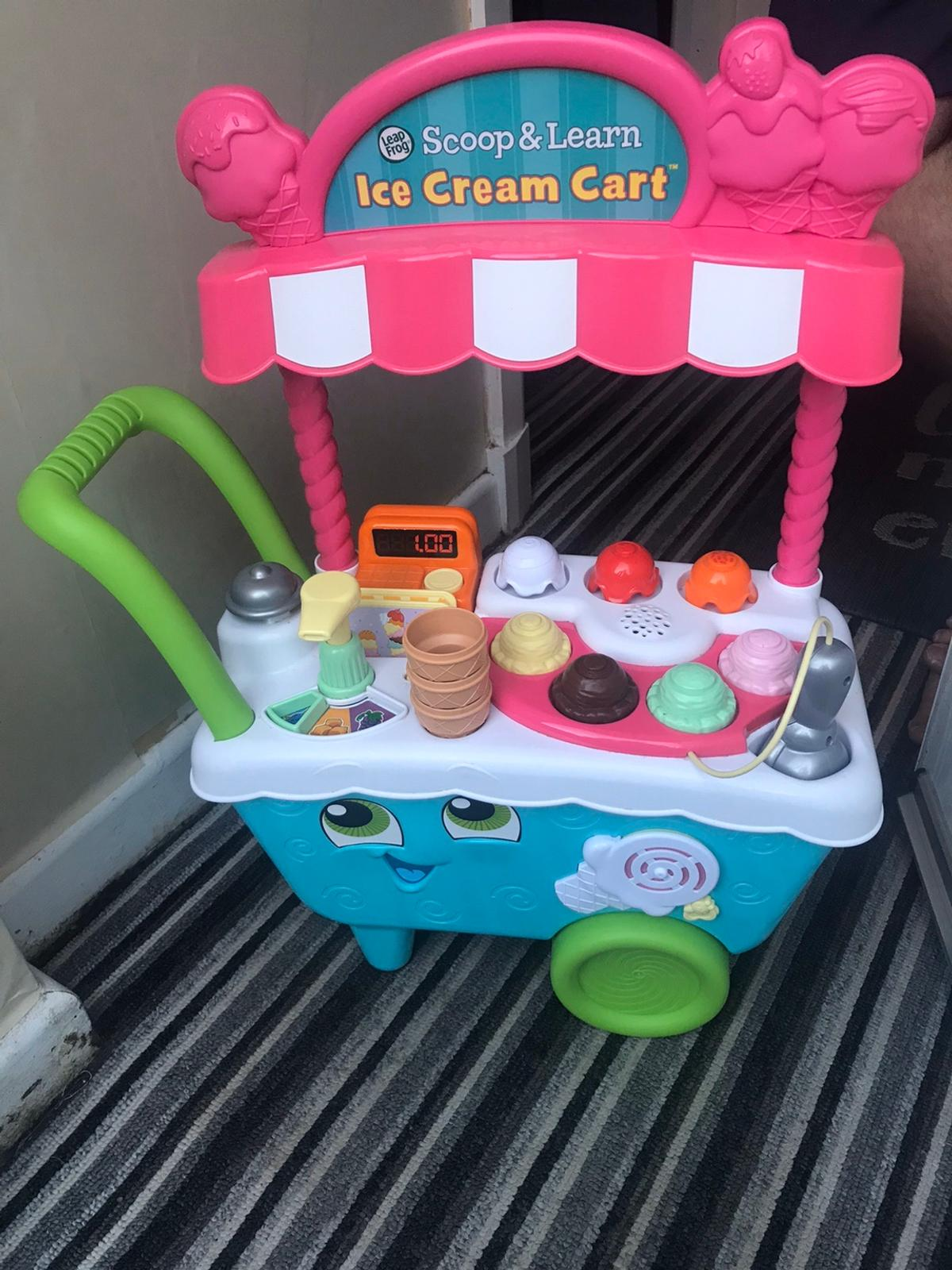 LeapFrog Scoop and Learn Ice Cream cart Pick up only good for educational learning