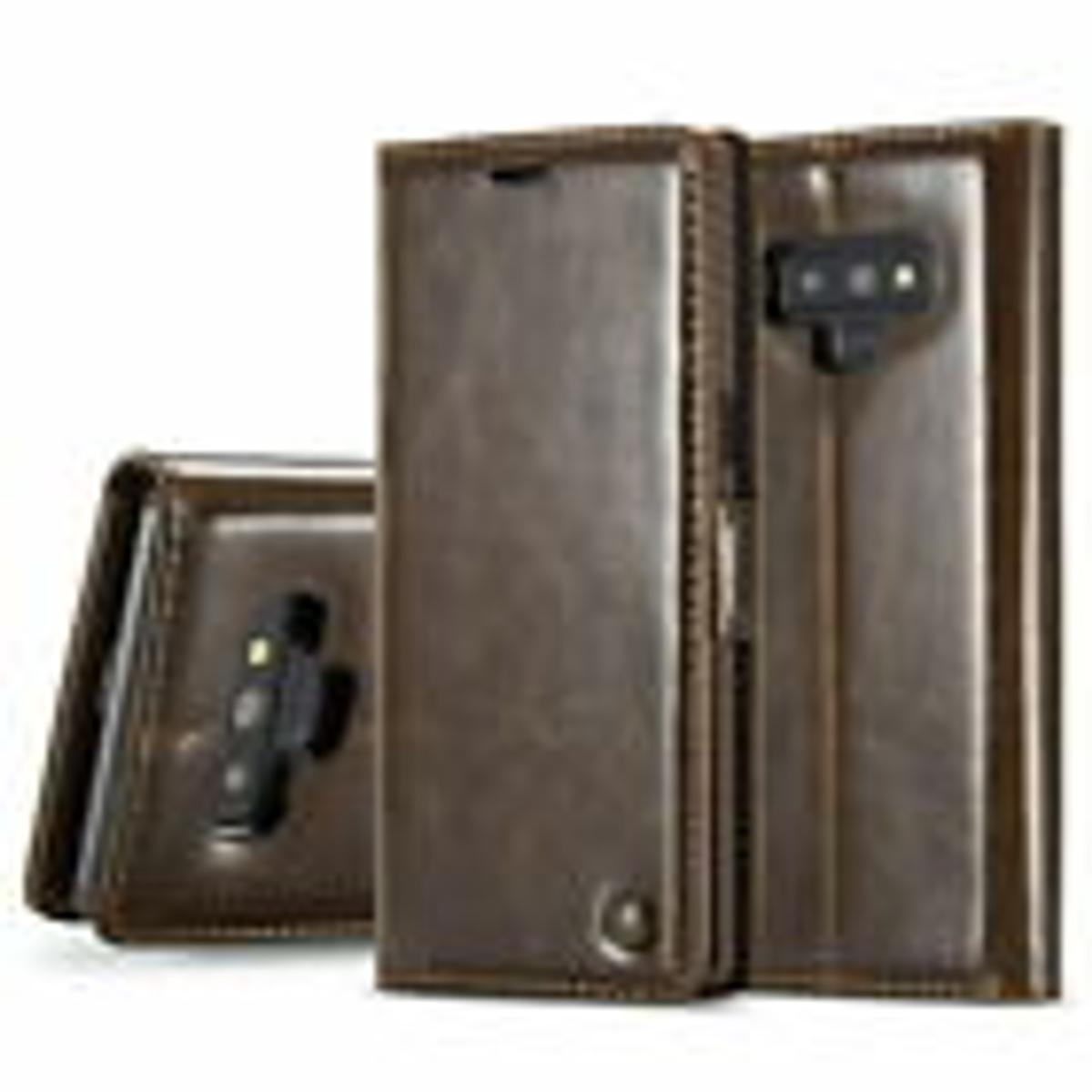 Brand New CaseMe Samsung Galaxy S9 Plus Leather Case Magnetic Stand Flip Cover Cost On EBay £6.00