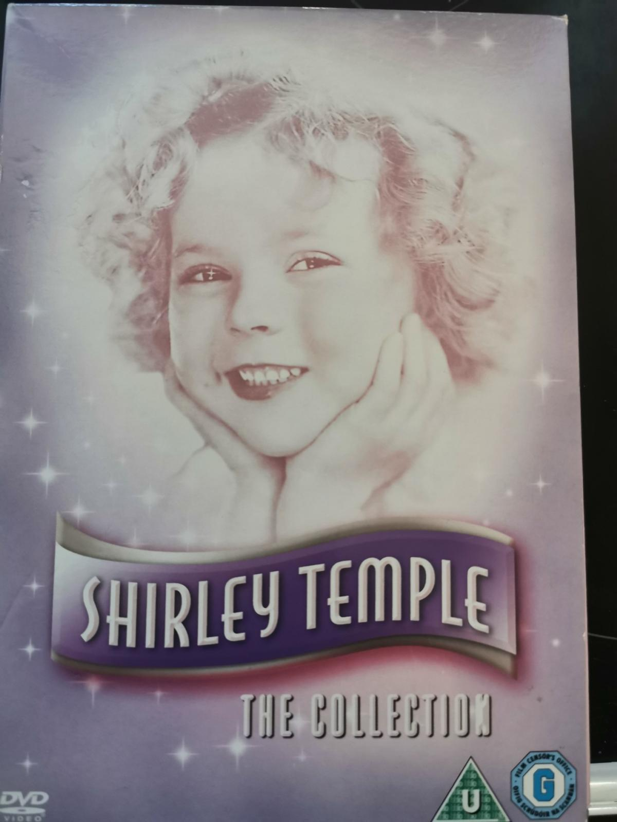 Shirley Temple 5 Film Box Set Collection Only.