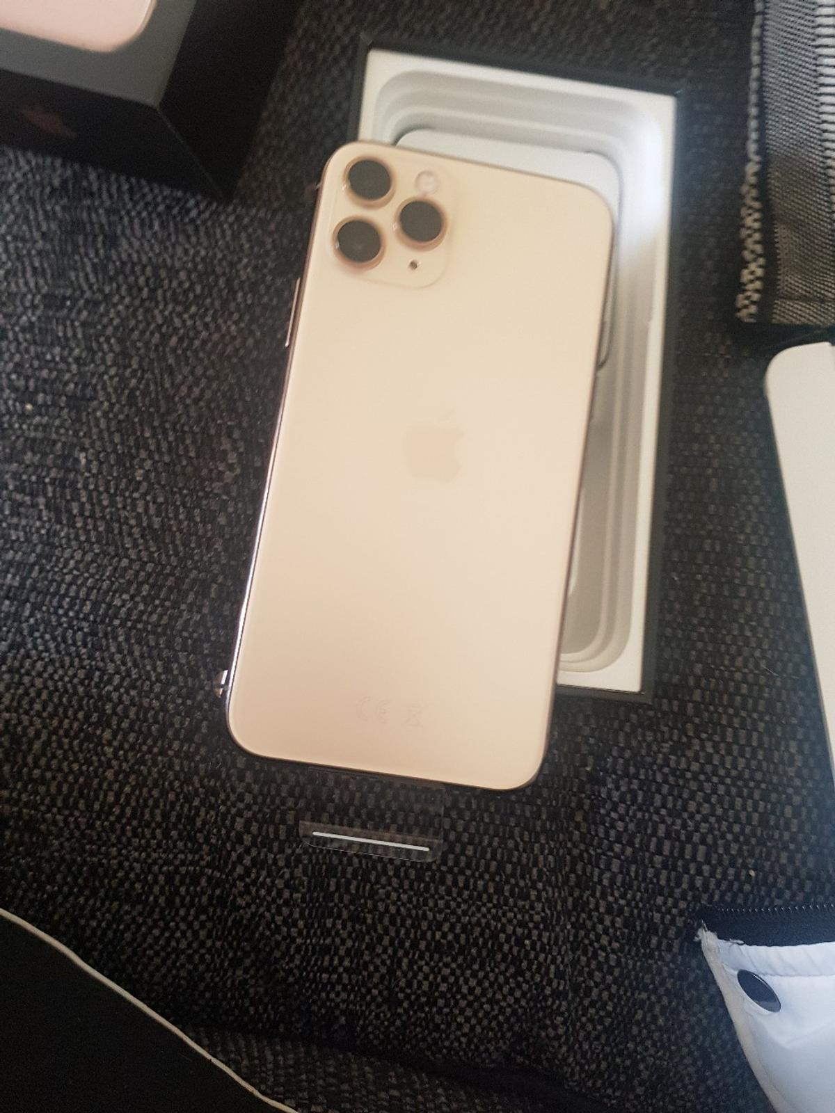 brand new I phone 11 pro gold in box