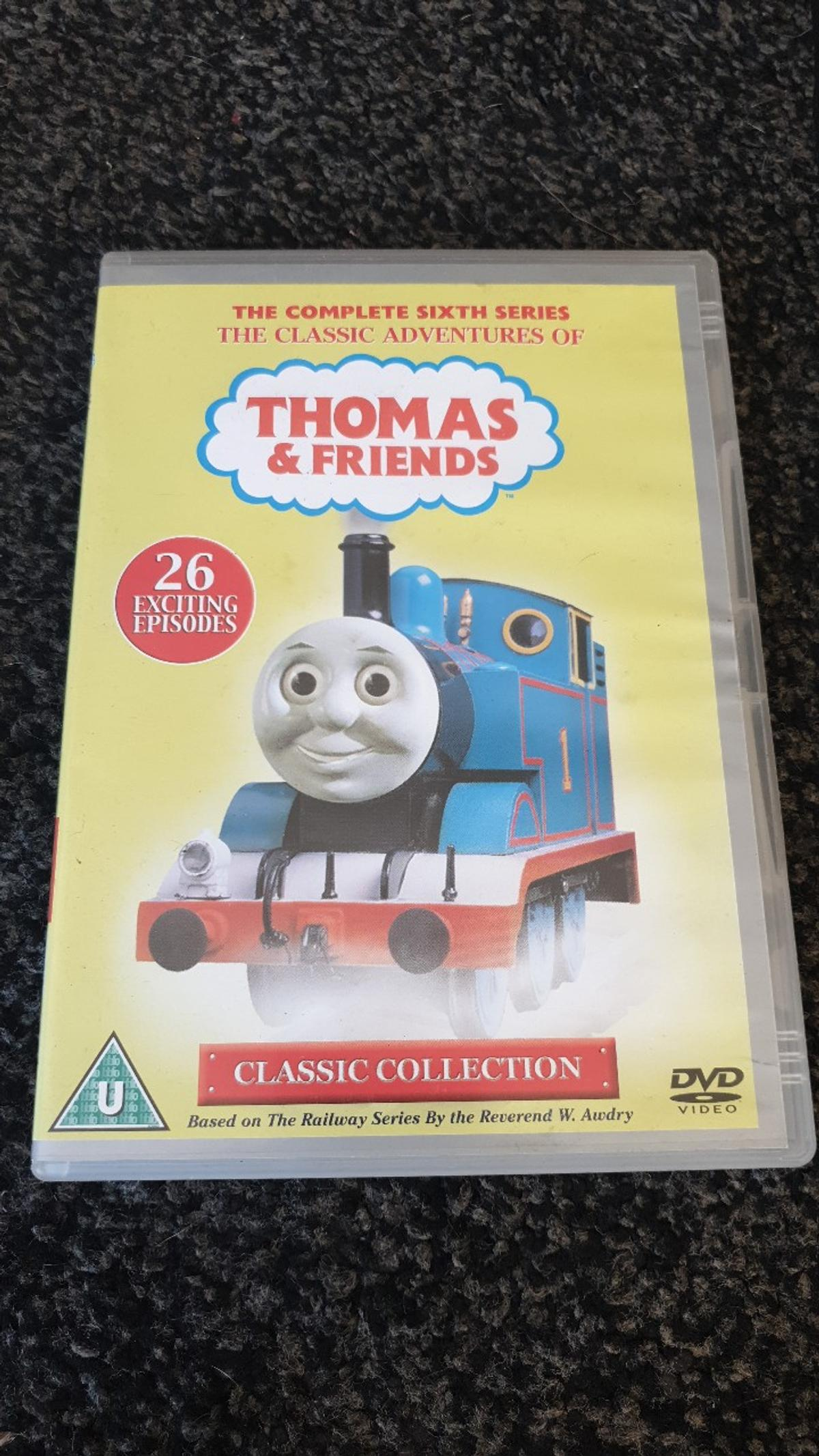 4 children's DVDs one in the night garden one balamory dvd a Thomas and friends 26 episode dvd and a unopened barbie film the magic pegasus first 3d barbie film with 4 3d glasses inside open to offers for individual purchases of the dvds