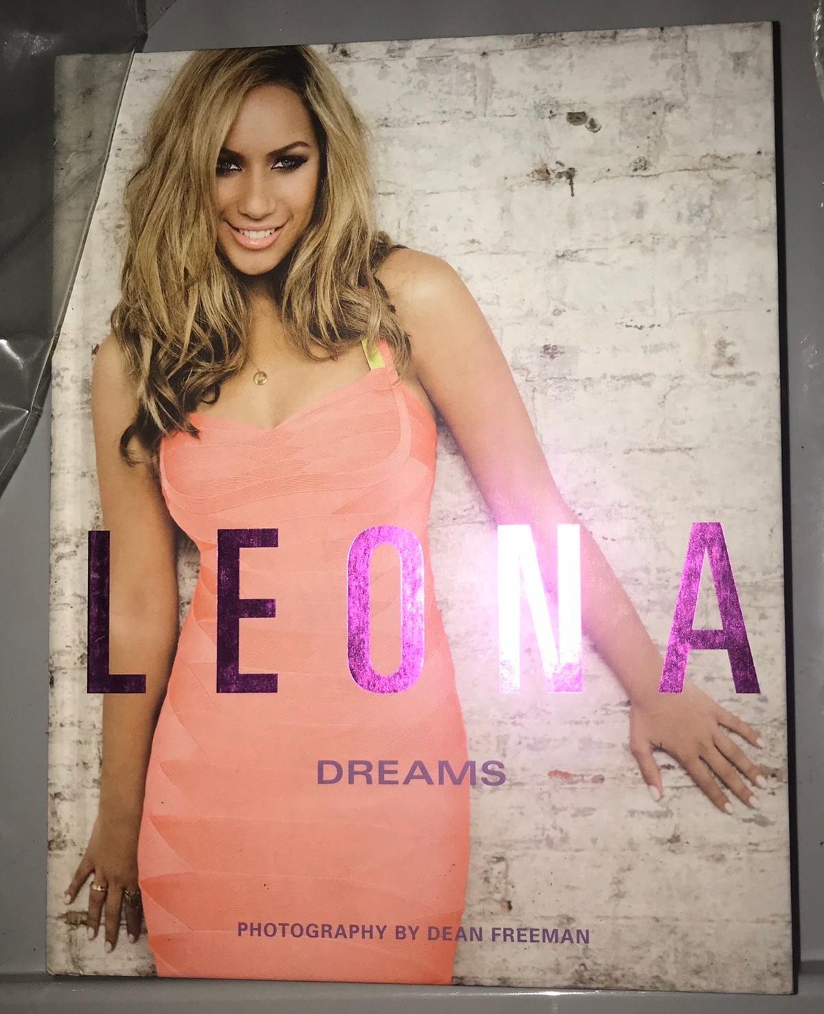This book is new and unread  Review This pictorial autobiography gives Leona fans a peek into the life of The X Factor's biggest success story and show that, while she might be a proper international pop diva, she's still the sweet, down-to-earth girl we all fell in love with... Laden with beautiful, glossy pictures ( HEAT)  The first-class photography helps deliver a delightfully intimate insight to Leona's life off stage ( Sunday Express)