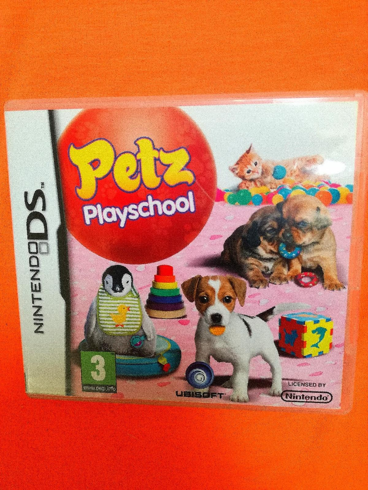 NINTENDO DS GAME PETS PLAYSCHOOL AS NEW CONDITION BUYER TO COLLECT ONLY THANKS FROM REDDITCH B96