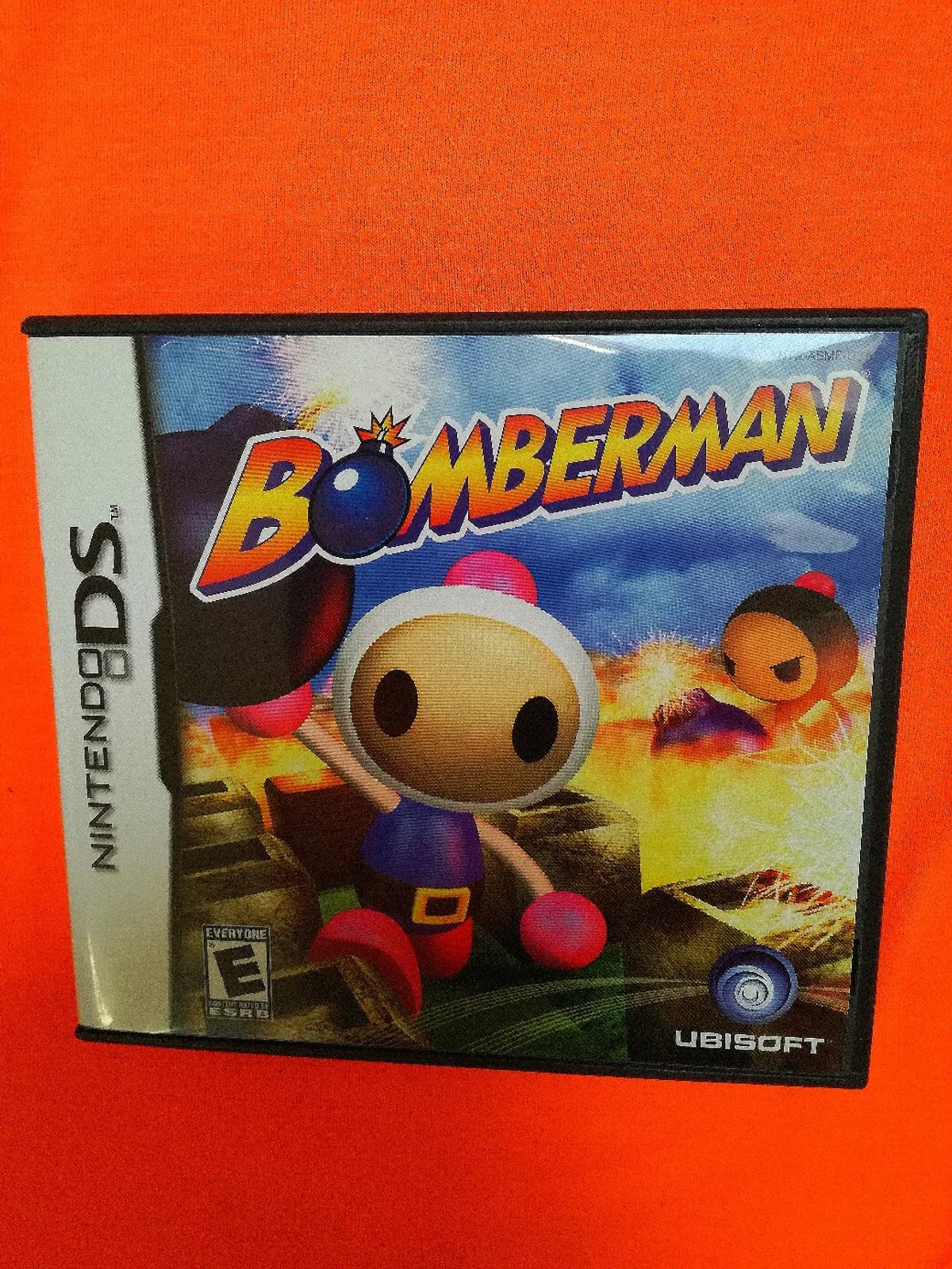 NINTENDO DS GAME BOMBERMAN AS NEW CONDITION BUYER TO COLLECT ONLY THANKS FROM REDDITCH B96