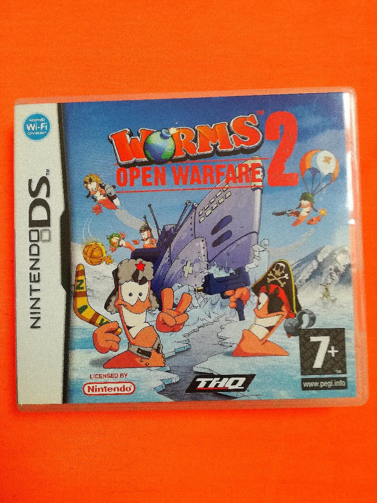 NINTENDO DS GAME WORMS TWO AS NEW CONDITION BUYER TO COLLECT ONLY THANKS FROM REDDITCH B96