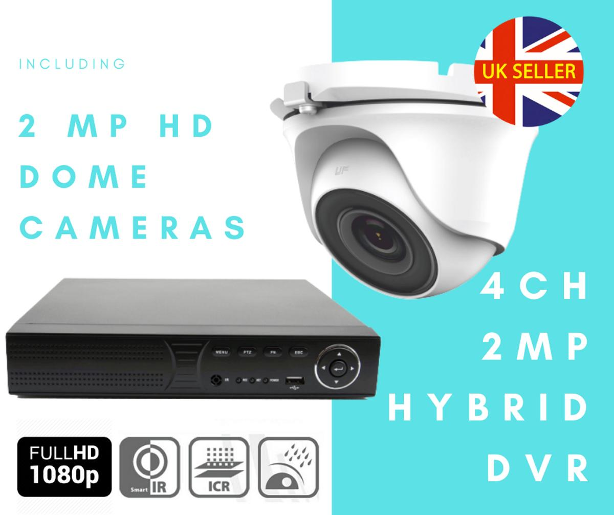 CONTACT US NOW TO DISCUSS PRICES  Fully Installed CCTV Camera Kit  Vandal-Proof Night Vision 1080p HD Weather-proof Motion Detection  We are offering one of the most affordable and effective options to secure your home, business or any place which required definition picture quality with our easy to use 2 Camera 4 Channel CCTV Kit. Plus we do all the work of installing it for you!  (To make an offer on this outstanding kit, call 07784262516)