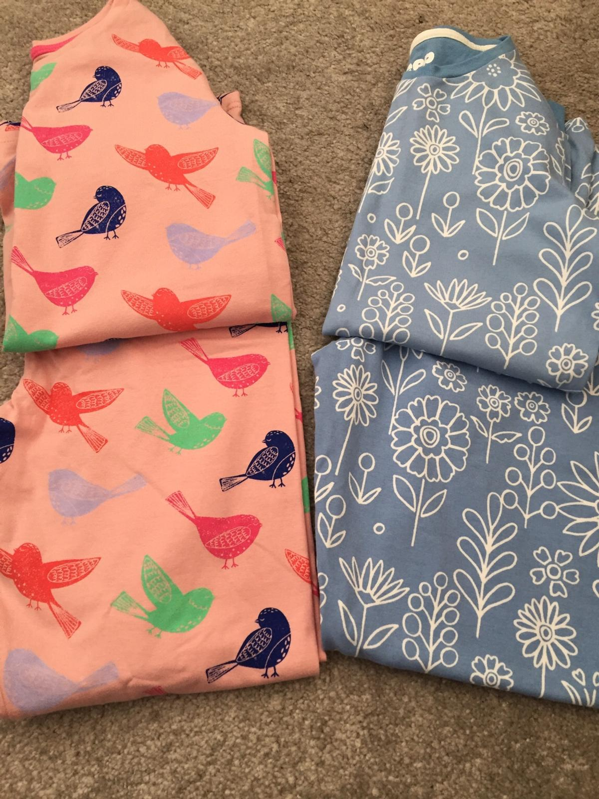 Girls age 9-10 x2 pair of brand New M&S pyjamas. From smoke and pet free home. Collection only