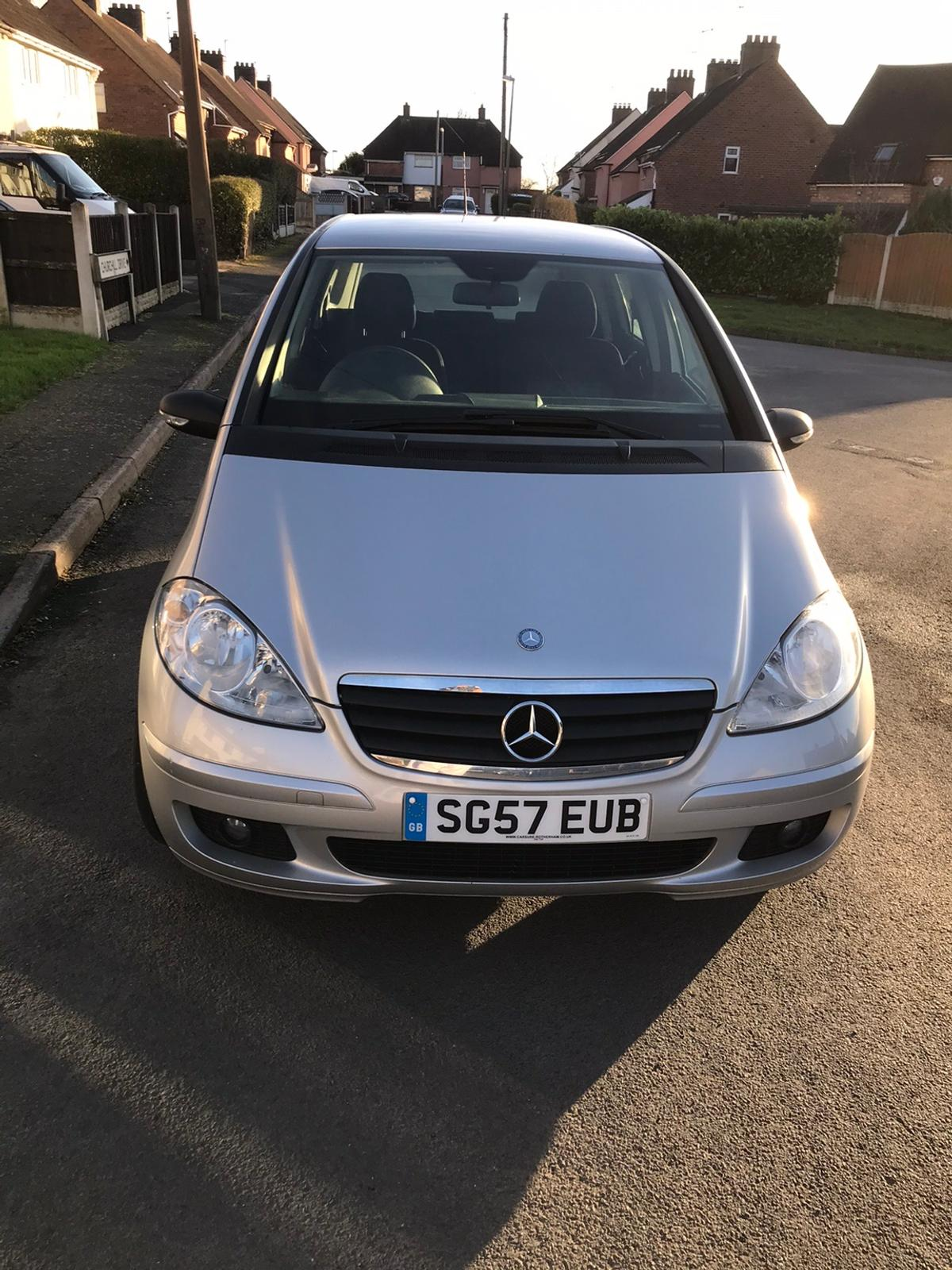Here I have a Mercedes A150. Immaculate car - FSH till October 2019 - Warranted Miles - Alll paper work for all work done to date. Lots and lots of documentation. Only 69K on the clock. First to see will buy. Mot till 16 Sept 2020. Immaculate body work.2 Keys - No lights on dashboard - genuine car to enjoy HPI clear. Electric Mirrors. No dents