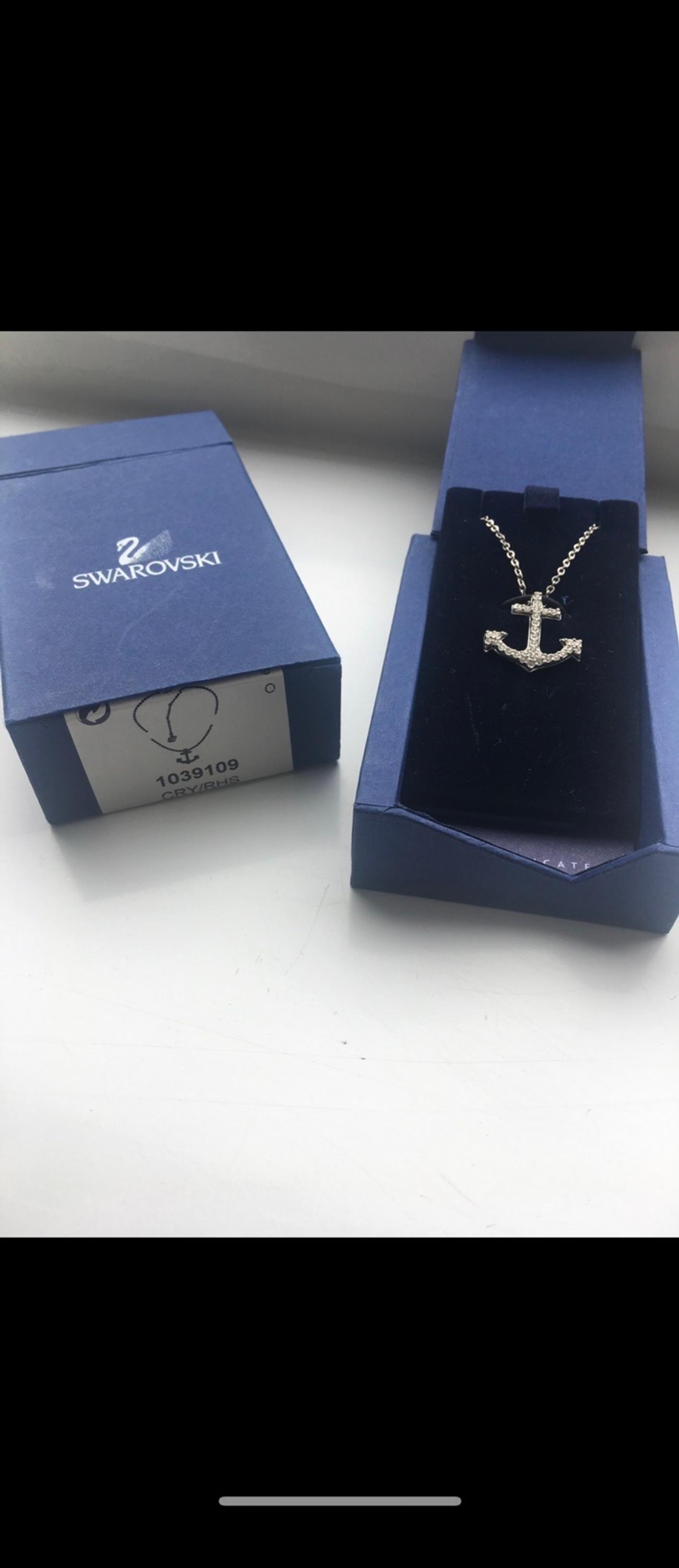 Swarovski anchor necklace. Worn a handful of times for occasions but not loved here. Collection S5 but postage can be arrange if buyer covers cost.