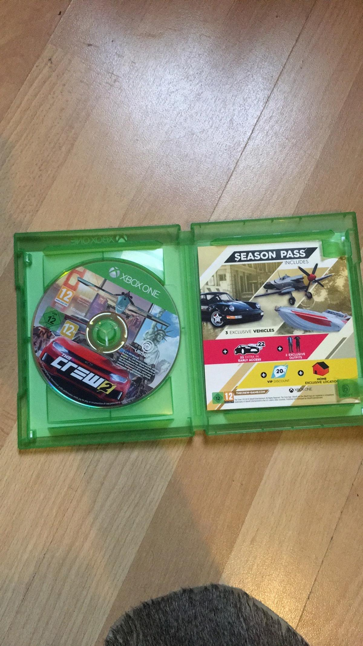Crew 2 for Xbox one perfect condition