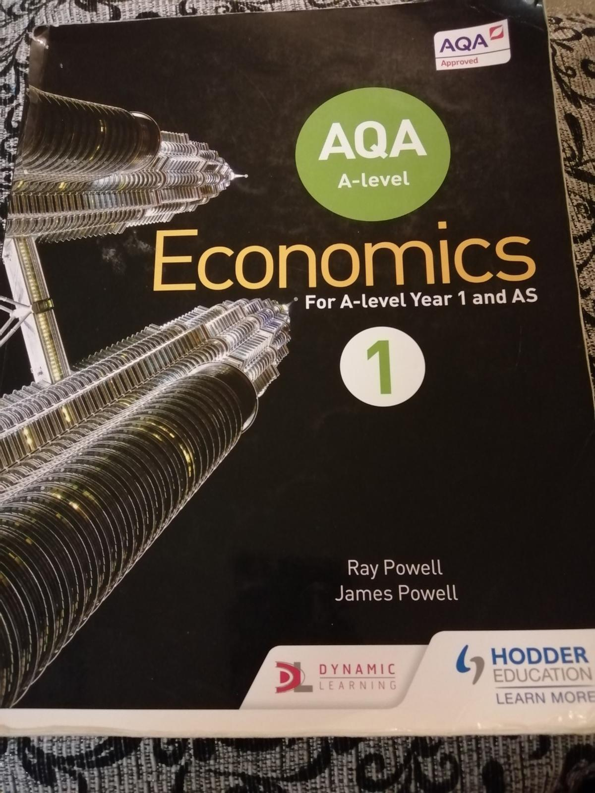 This textbook has been fully updated to cover the new A Level specification, giving you up-to-date material that supports your learning. You can develop subject knowledge with topic by topic insight. You can also develop awareness of current issues in economics with new case study materials. Finally, strengthen your exam technique through worked examples and practice questions and activities.