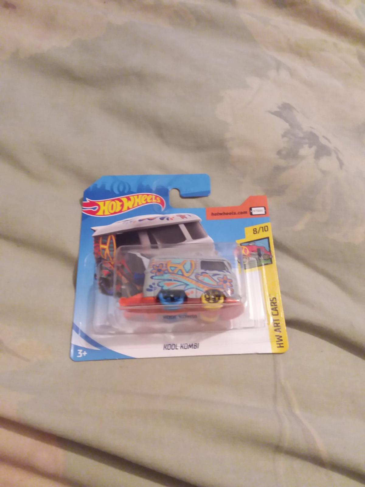 selling one hotswheels kool kombi much pick up cash on collection or can posted it frist class signed for £4