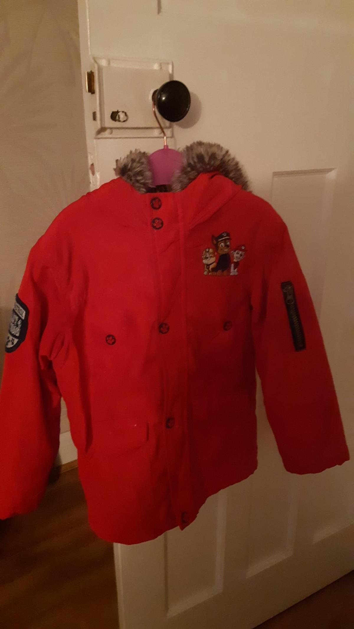 paw patrol coat age 5/6 year in good condition sorry no offers