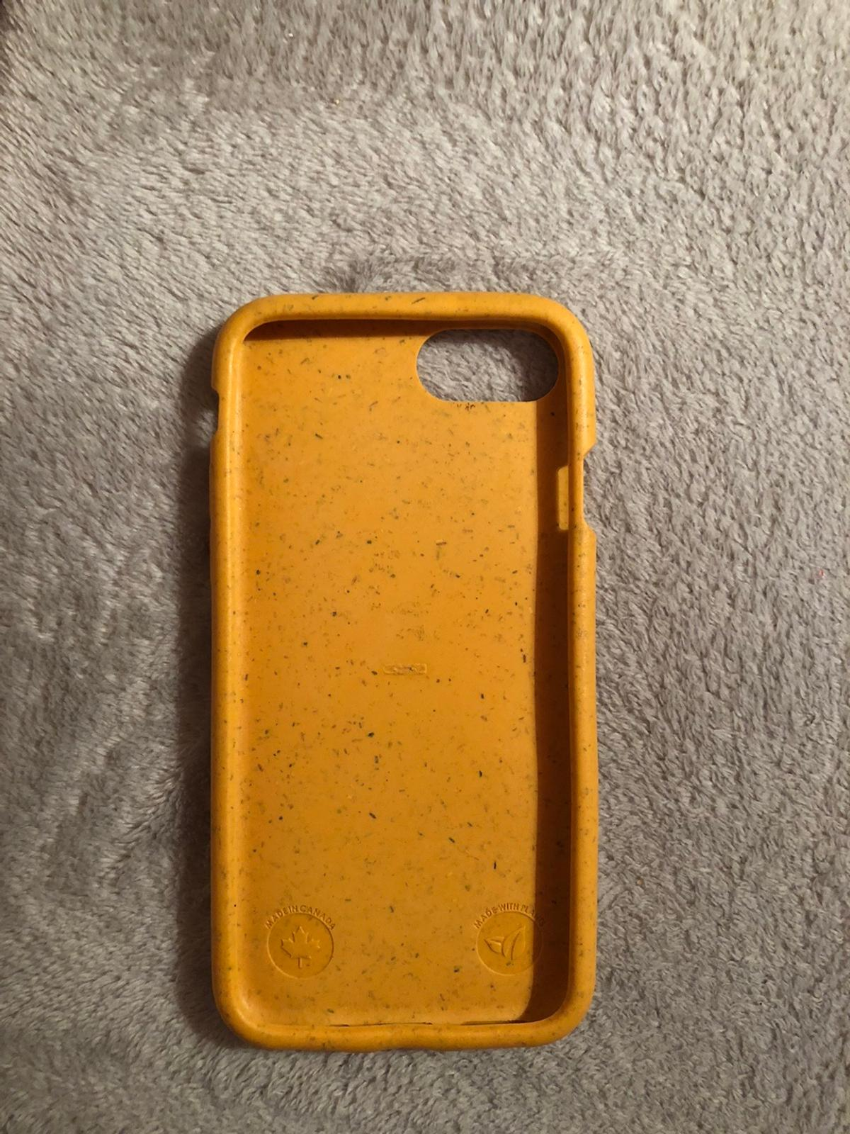 Brand new iPhone 7/8 Pela case Never used before Environmentally friendly