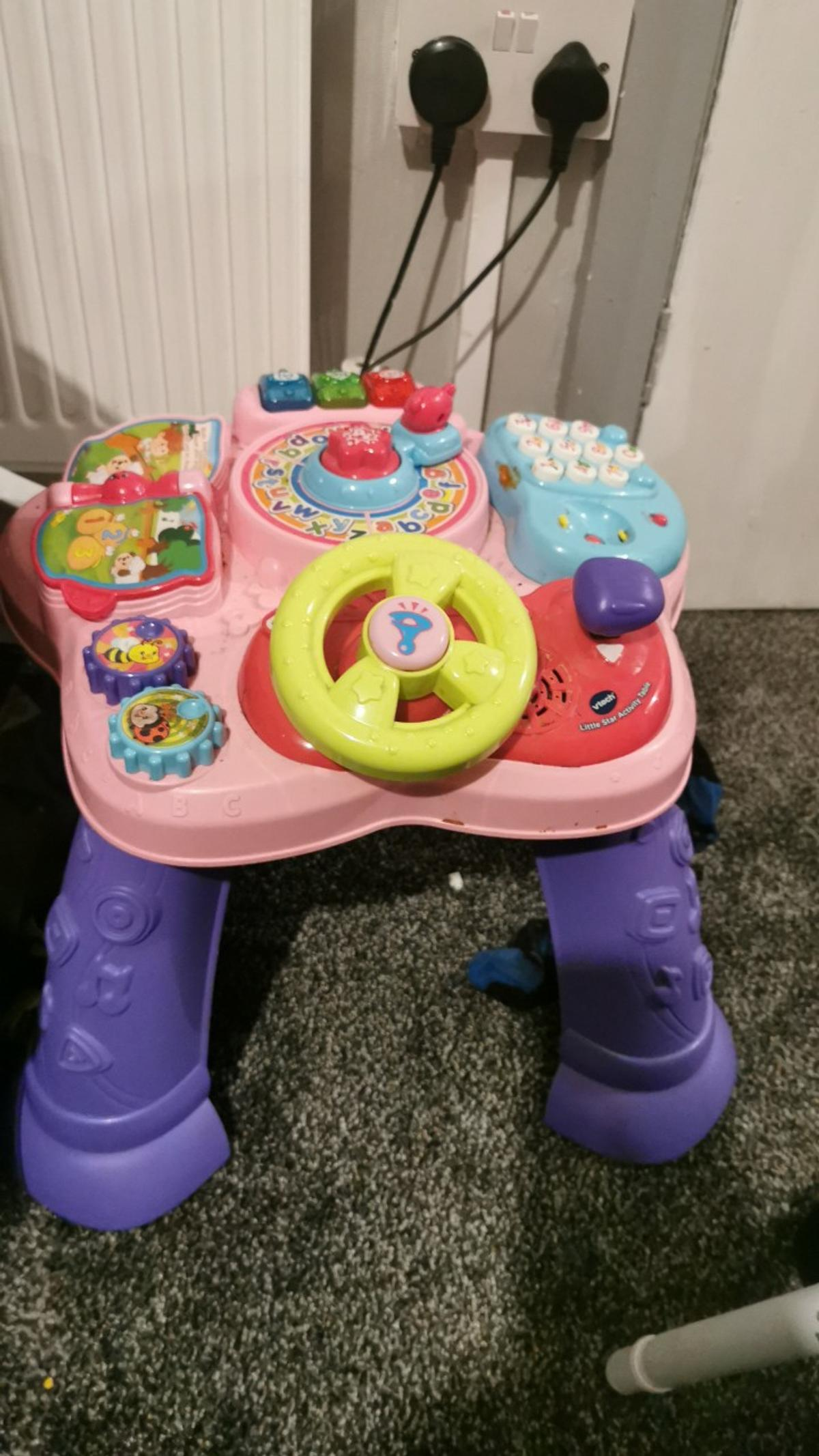 Girls activity table... Like new used hand full of times
