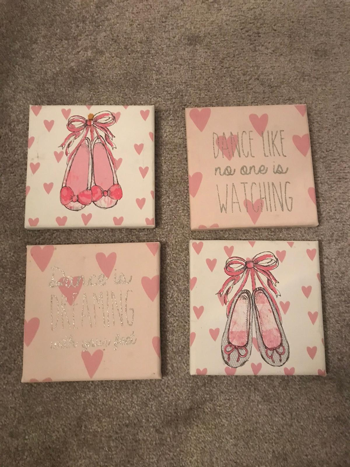 4 next ballet canvases