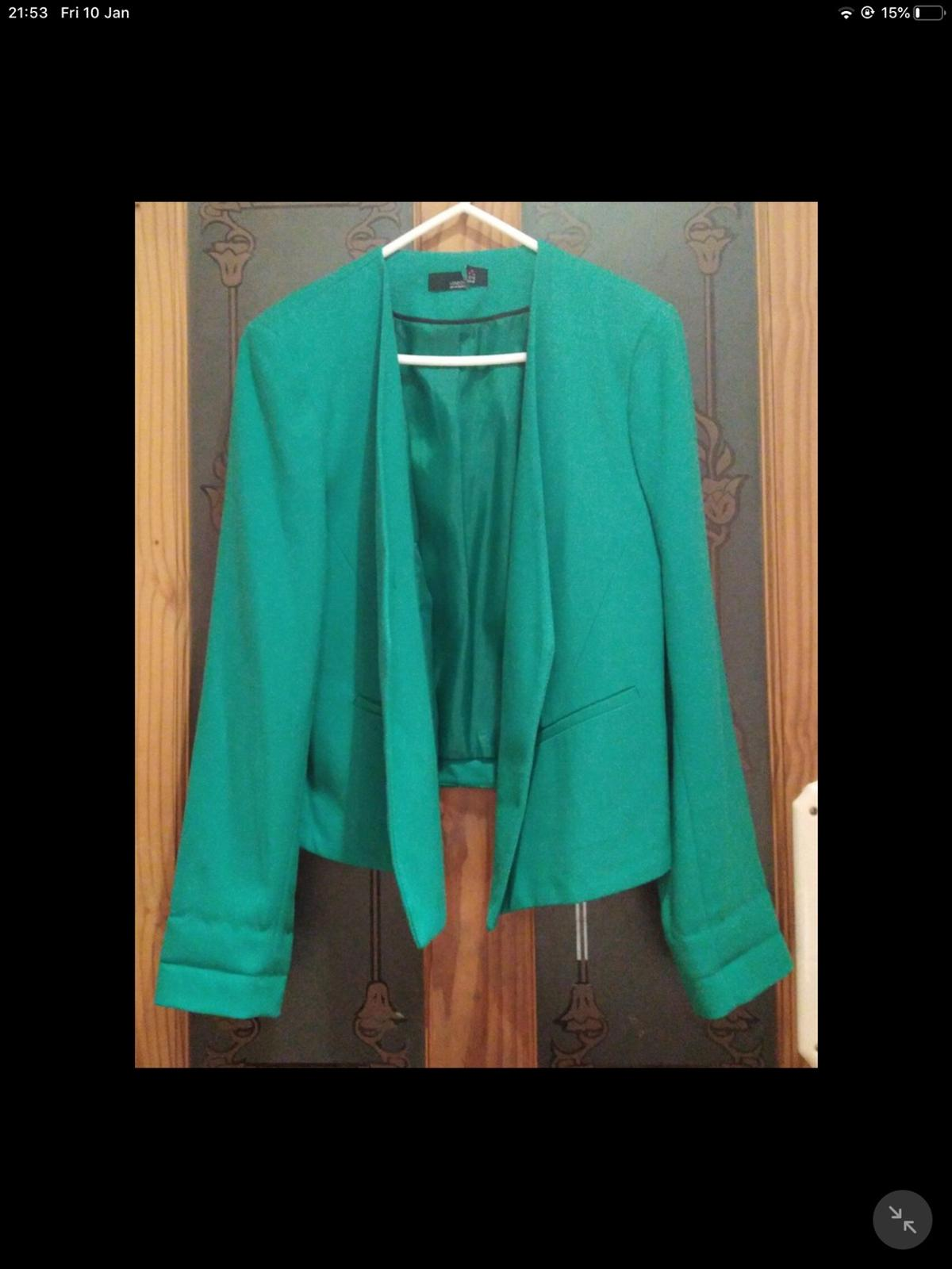 Emerald Green jacket size 14 Great condtion really lovely jacket