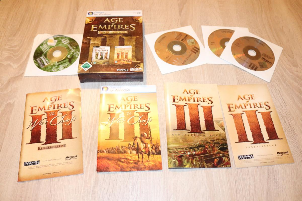 Enthält Age of Empires III und Age of Empires III The War Chiefs