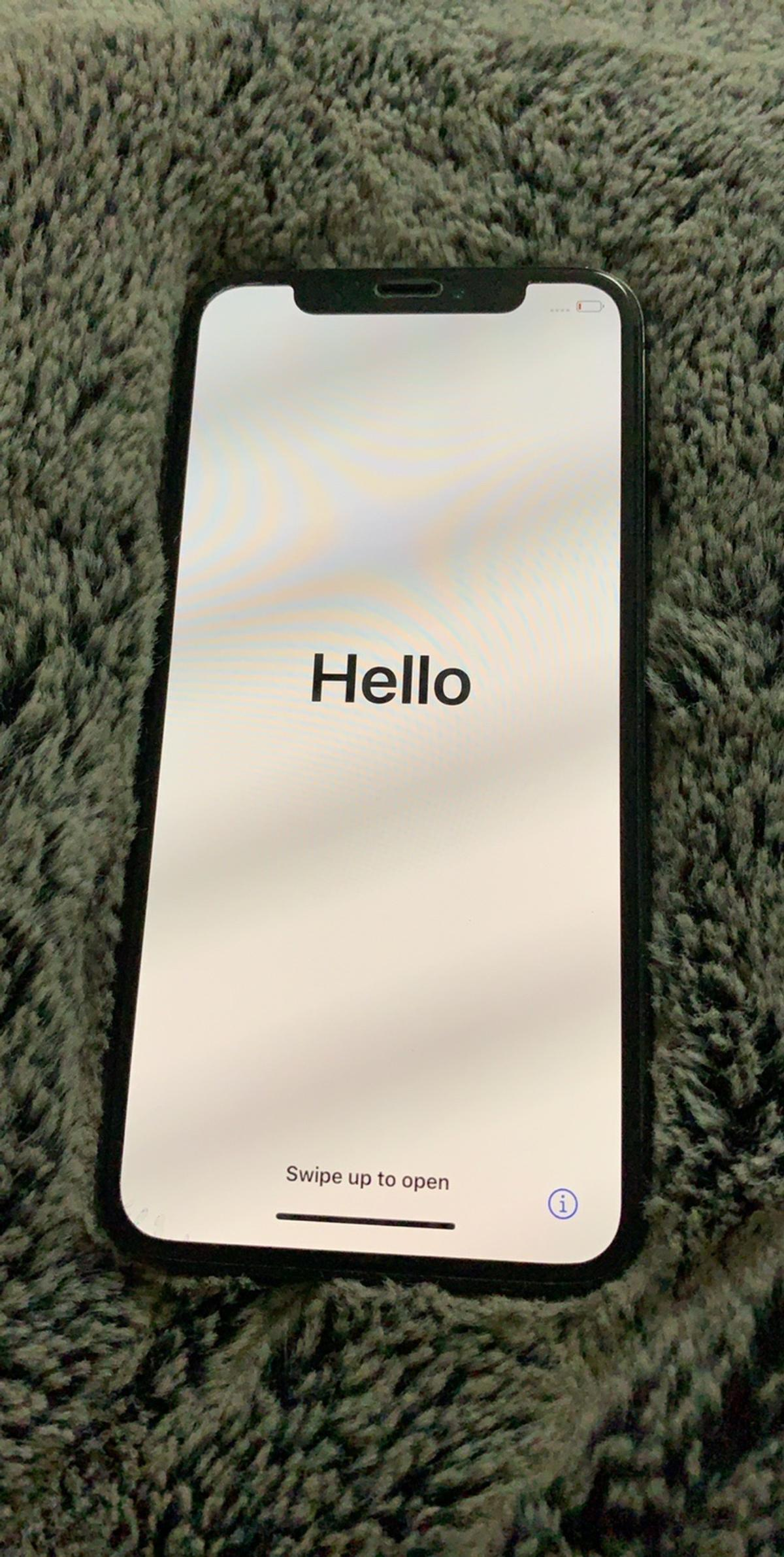 iphone x - 64GB, just had screen repaired by apple so in brand new condition, unlocked, £400