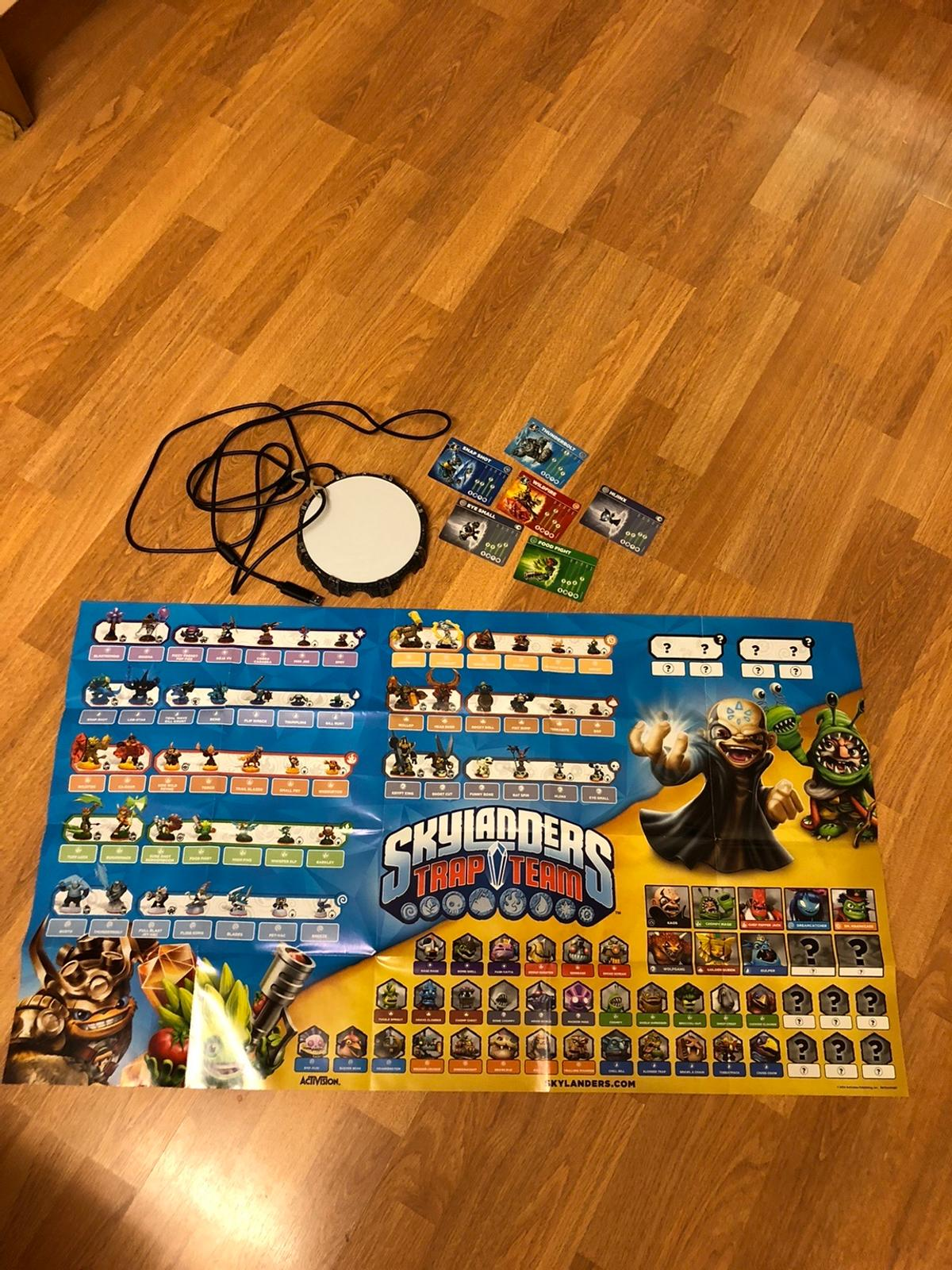 Skylanders portal, cards and poster all in brand new condition