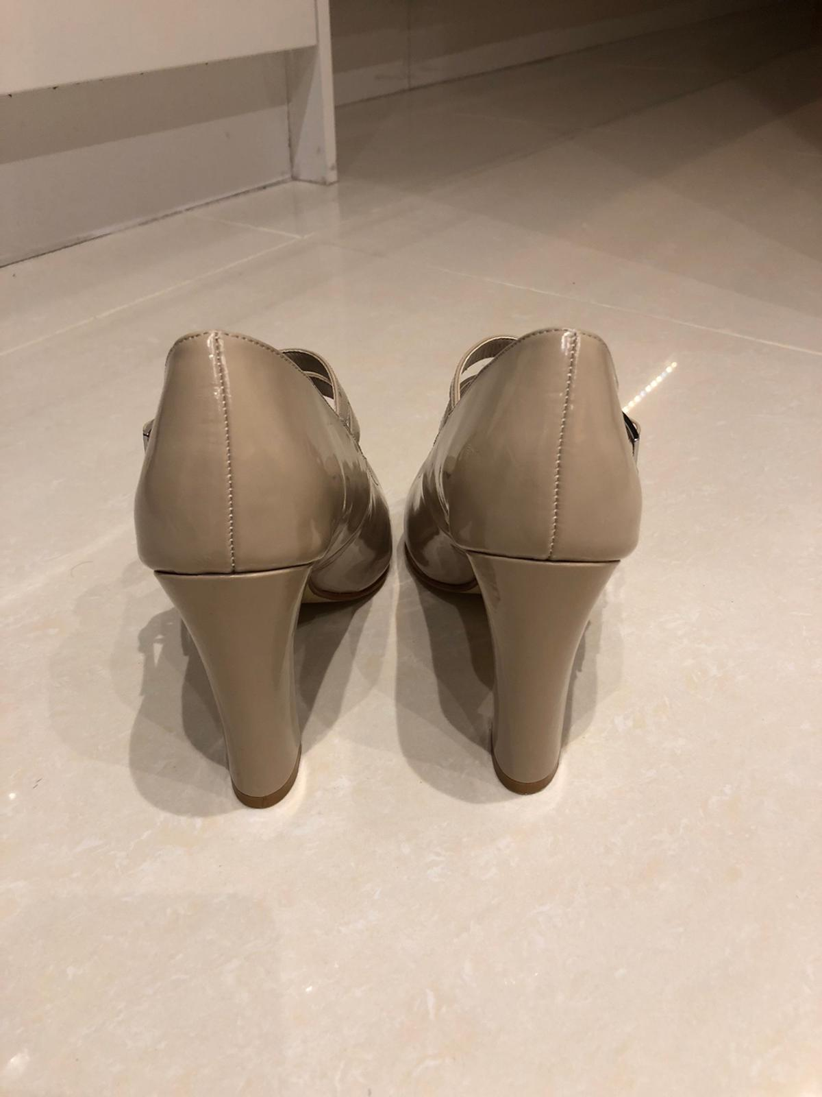 Lovely court shoes from Next in natural colour. Size UK 4.5 / EU 37.5 Worn for one evening a while ago and they don't fit my post babies/pregnancies feet anymore 🙈😄  Happy to deliver locally (or post if needed) 😊