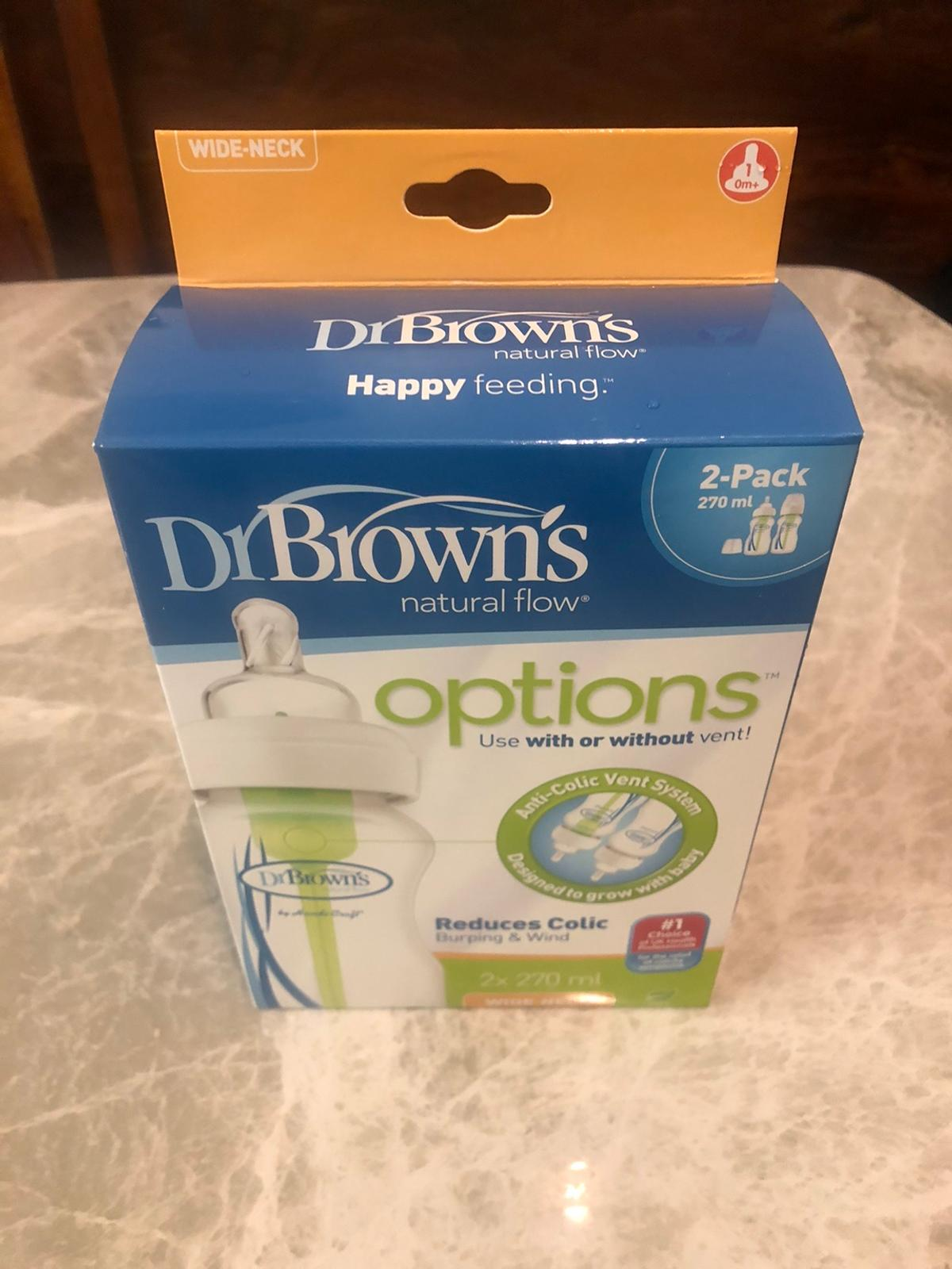 The enhanced design of the Dr brown's options+ anti-colic bottle is clinically proven to reduce windy colic due to dr brown's unique 100% vacuum-free vent system. Dr brown's options+ bottles offer an easy and comfortable way to feed your little-one.