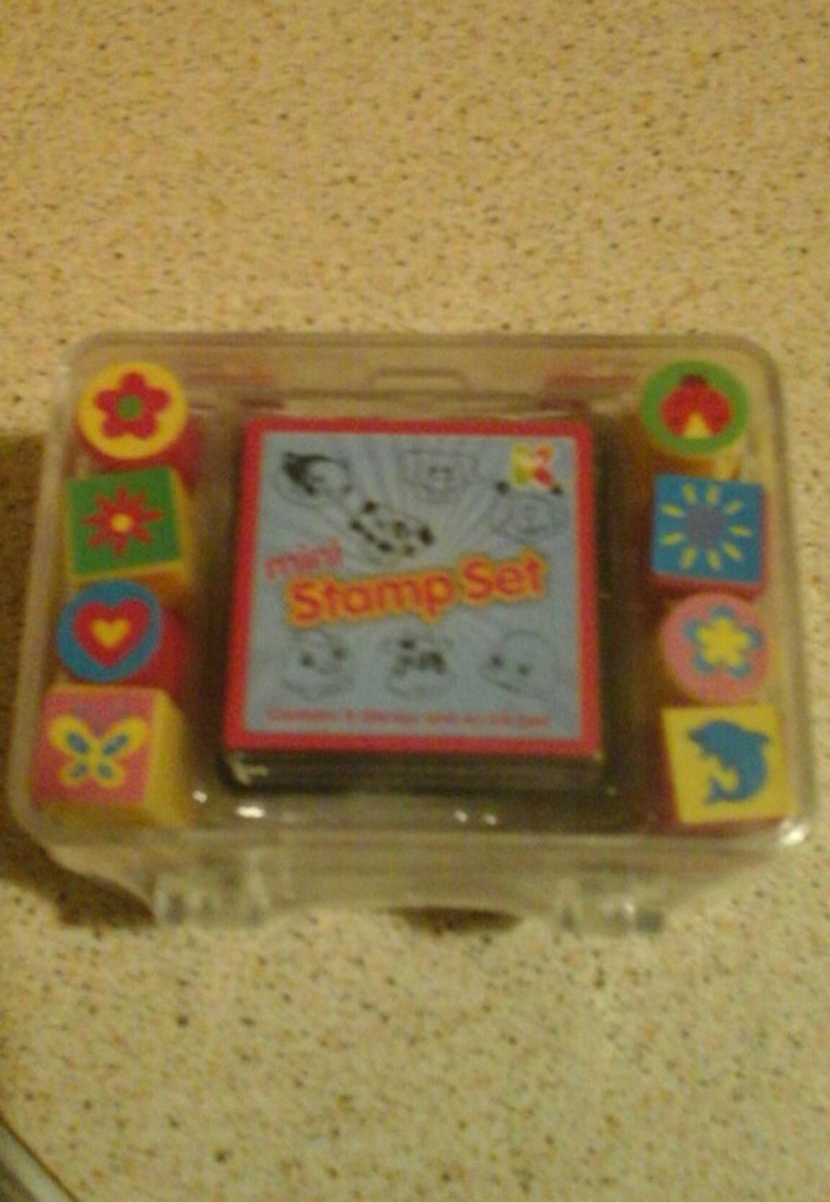 Mini stamp set brand new pick up only great little gift pick up only