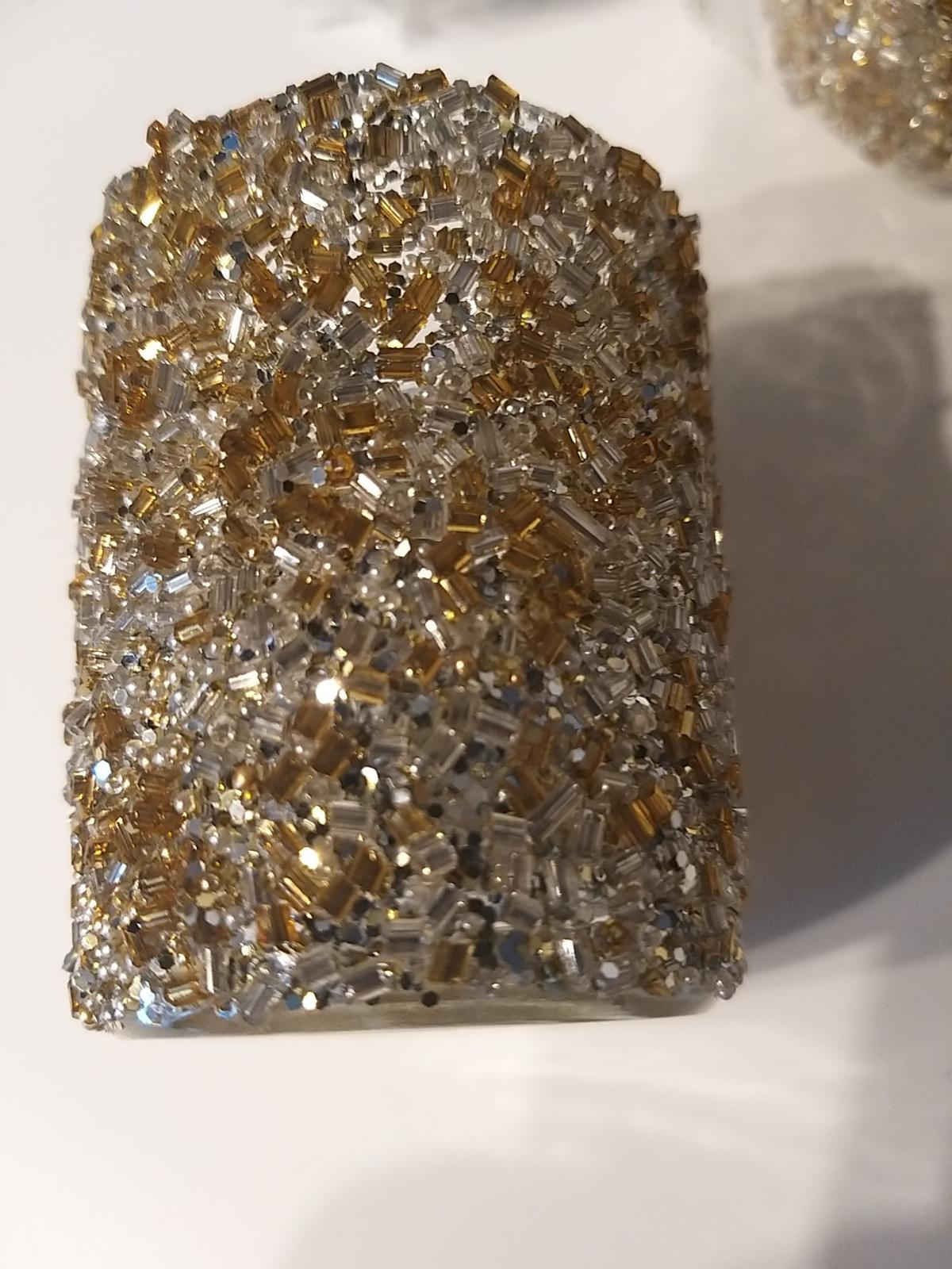 gold and silver sparkle brand new in box
