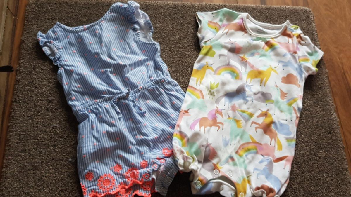 Both 6-9 months Excellent condition-washed Pet and smoke free home Collection B13 **50P TODAY ONLY**