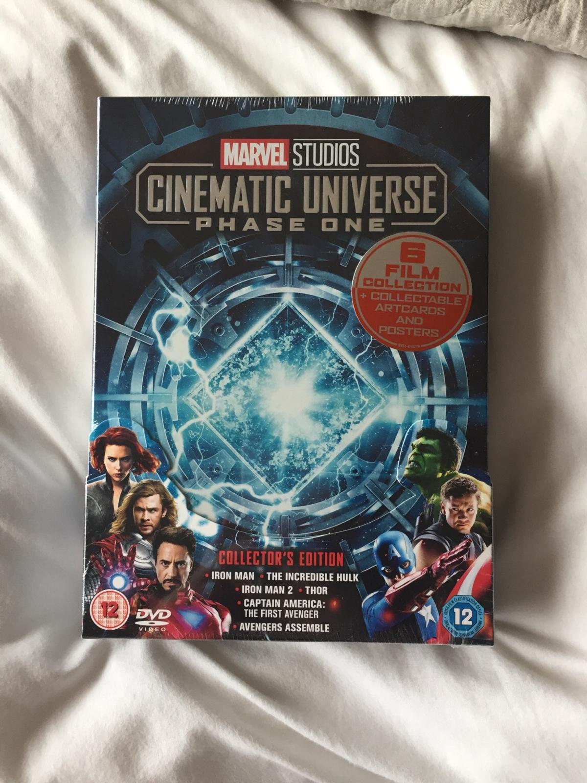 Unopened PHASE ONE collectors edition 6 film collection + additional content, stunning collectible art cards and posters inside
