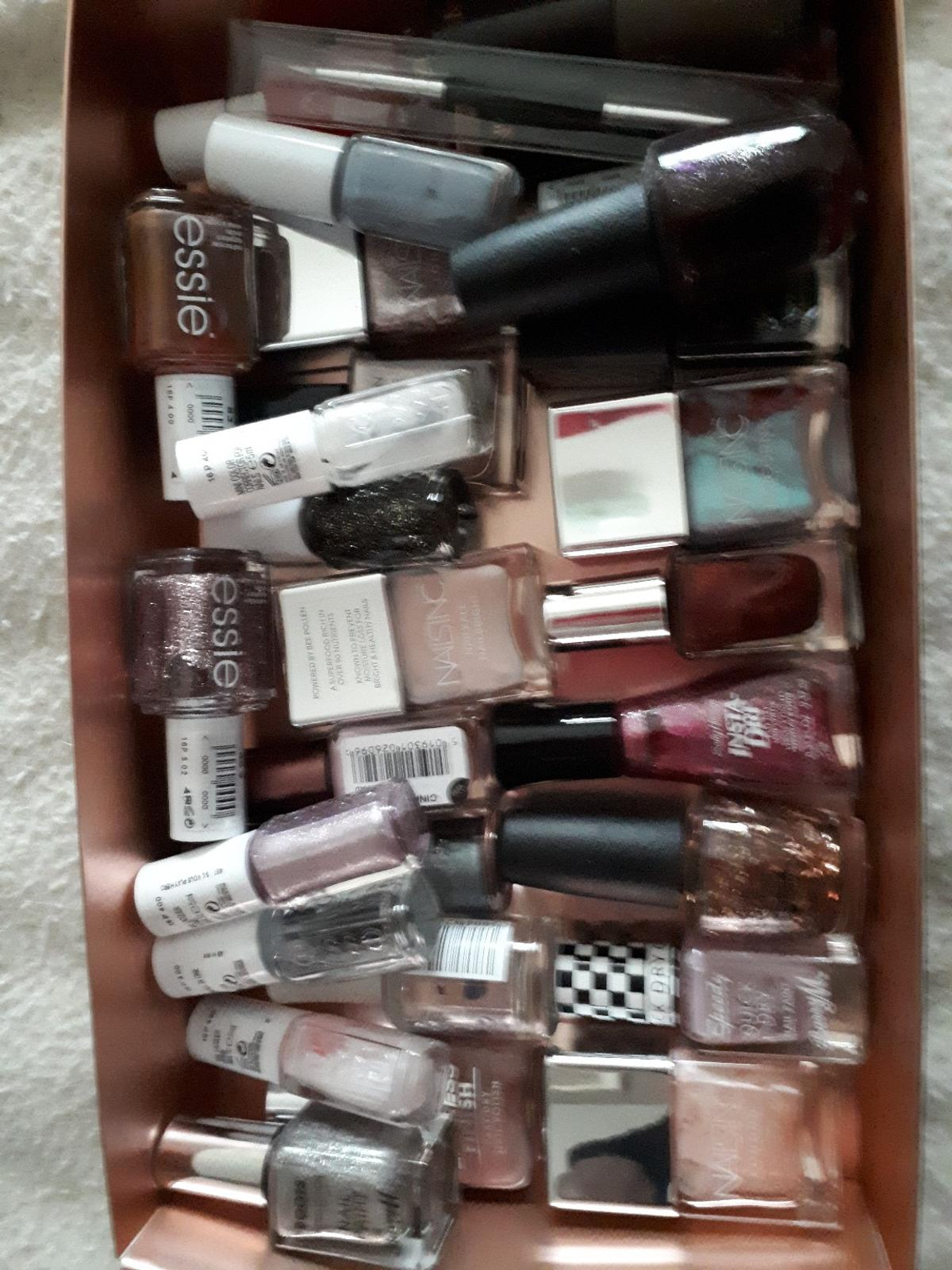 28 x nail polish including essie, opi, nails Inc collection from pelsall