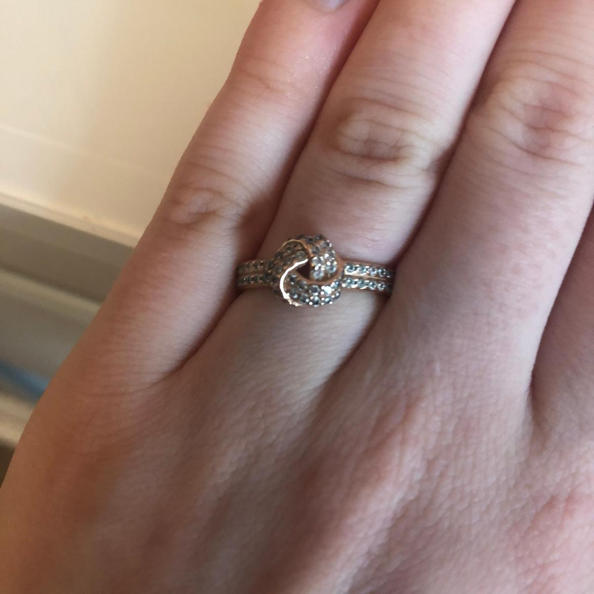 Pandora Rose Gold Knot Ring In Ig8 London For 35 00 For Sale Shpock