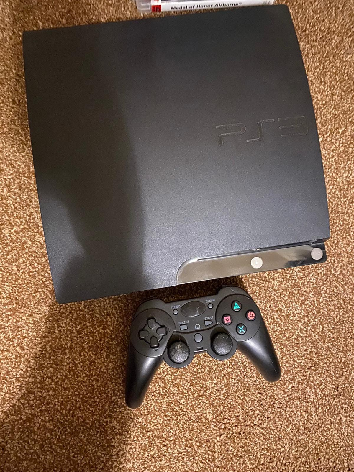 PS3 with one controller - 25 games some not ever been used  In good condition.