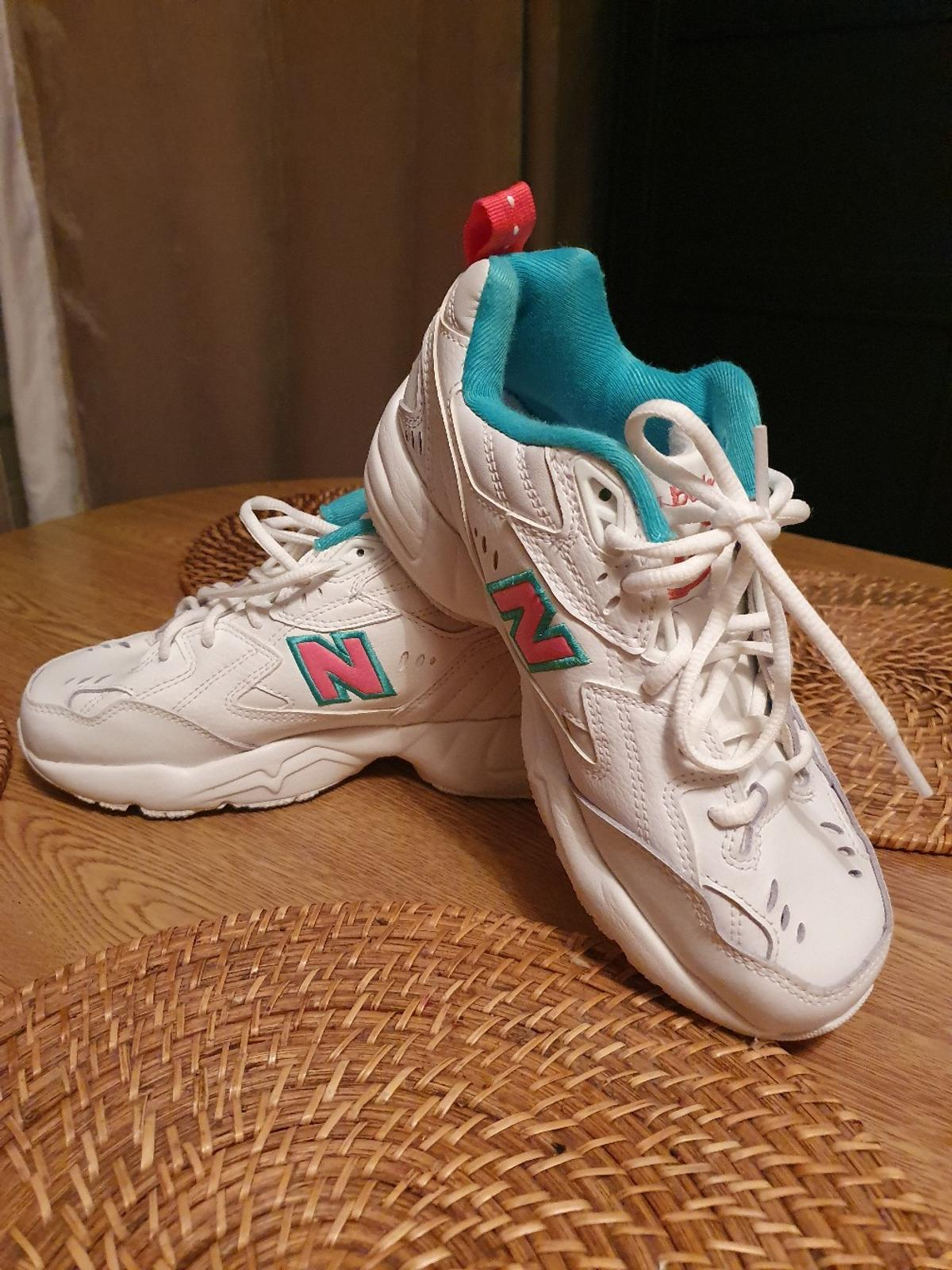 NEW BALANCE WX608WT 1 -Women's Trainers  UK 4 /EUR US  used twice ,condition like new