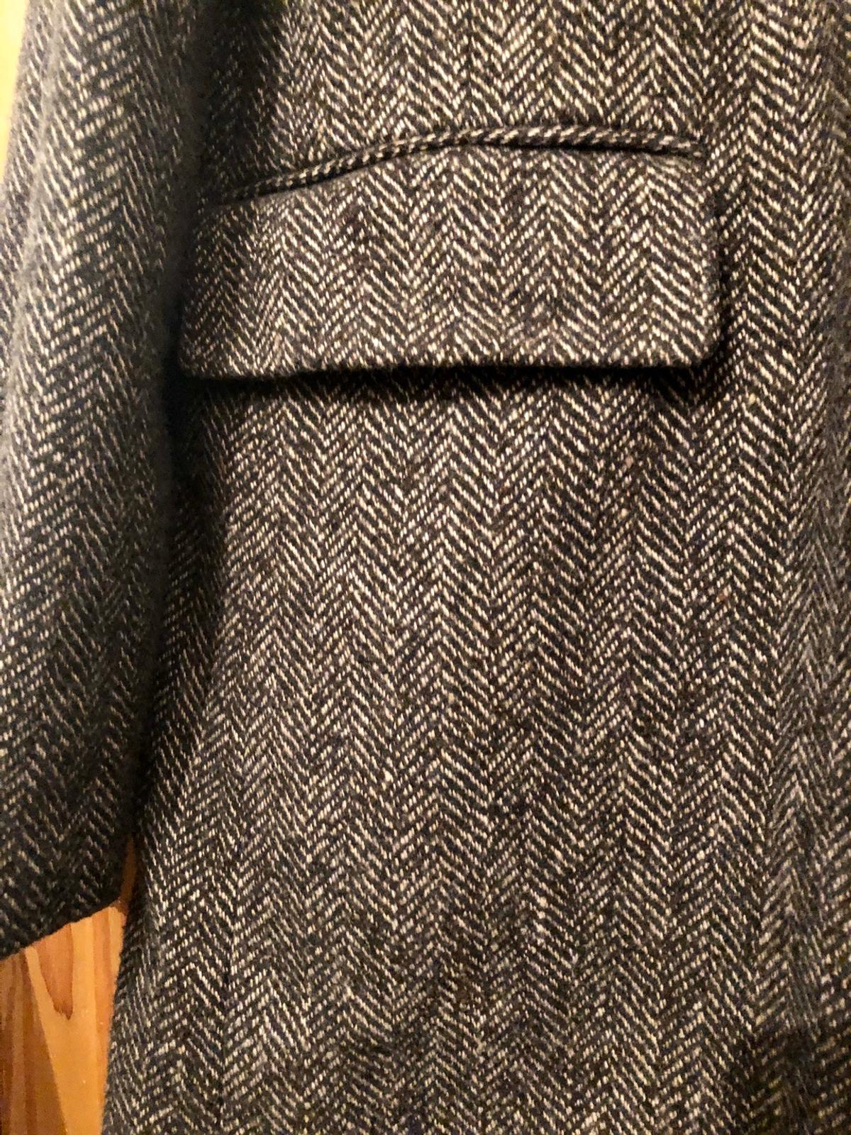 Tweed style Button fastening
