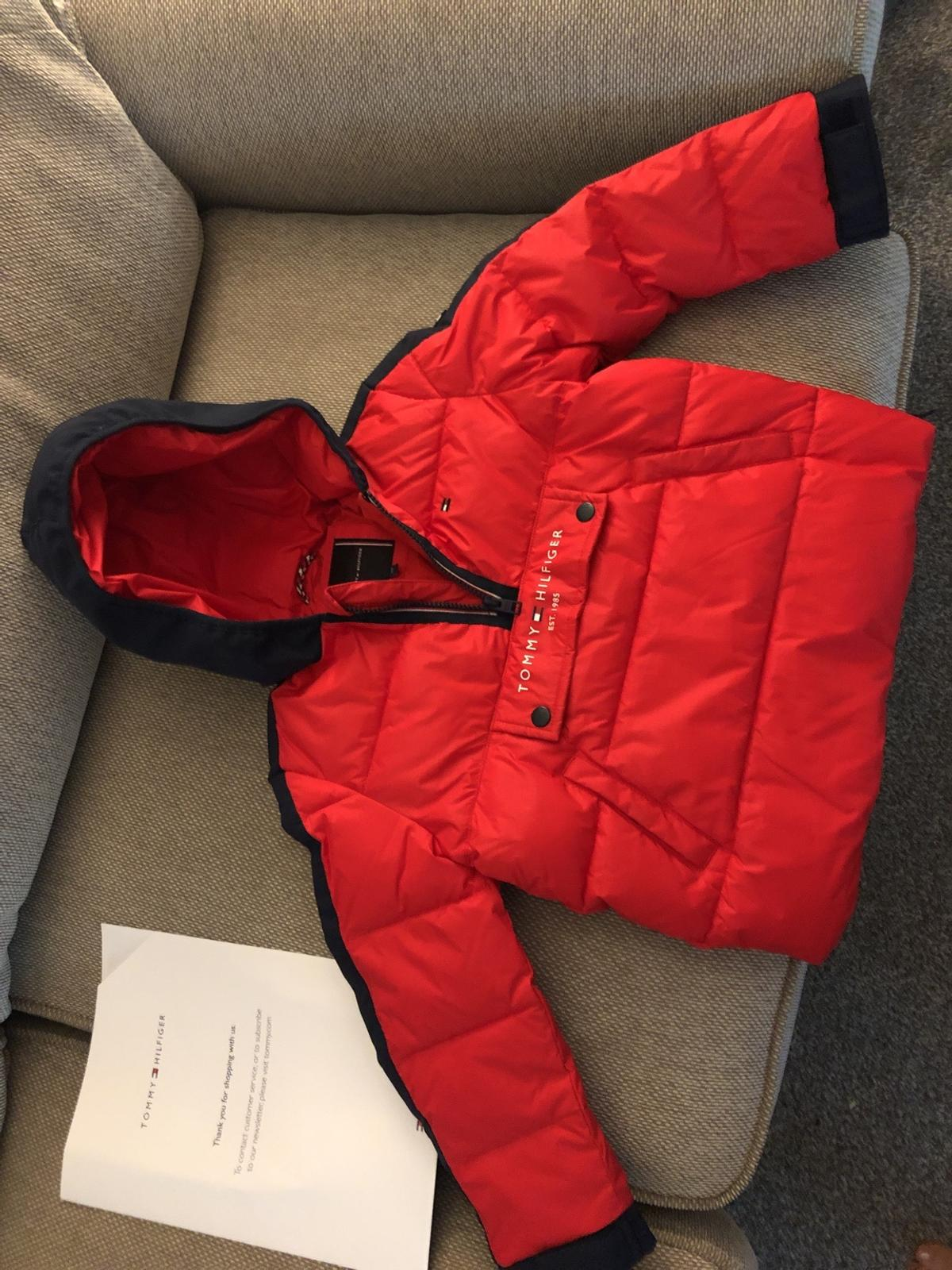 Aged 6. Brand new brought for £110. Tried on once my boy dislikes it as its an over the head coat. Never worn from smoke/pet free house