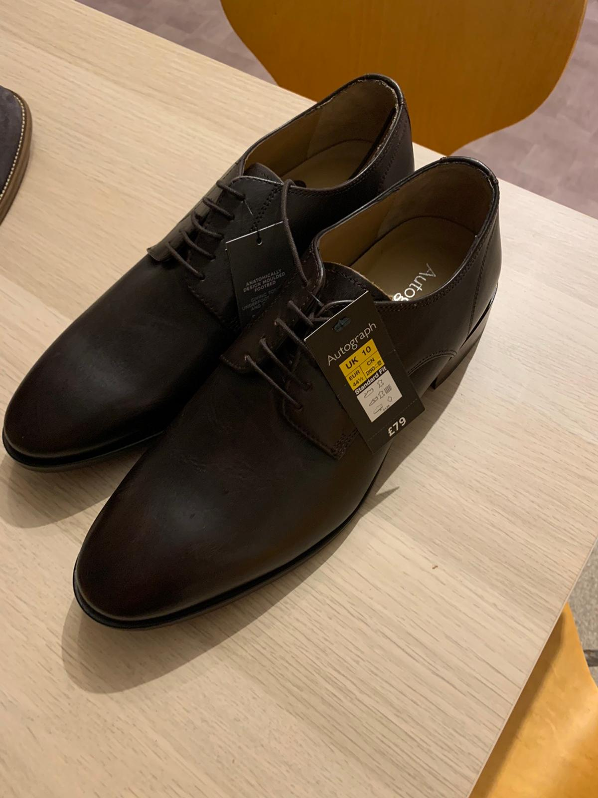 Brand new men's shoes size 9 from M&S. Retail price £79 each. Both brand new with tags and never worn, Selling as unwanted gift. £40 a pair or £70 for both.
