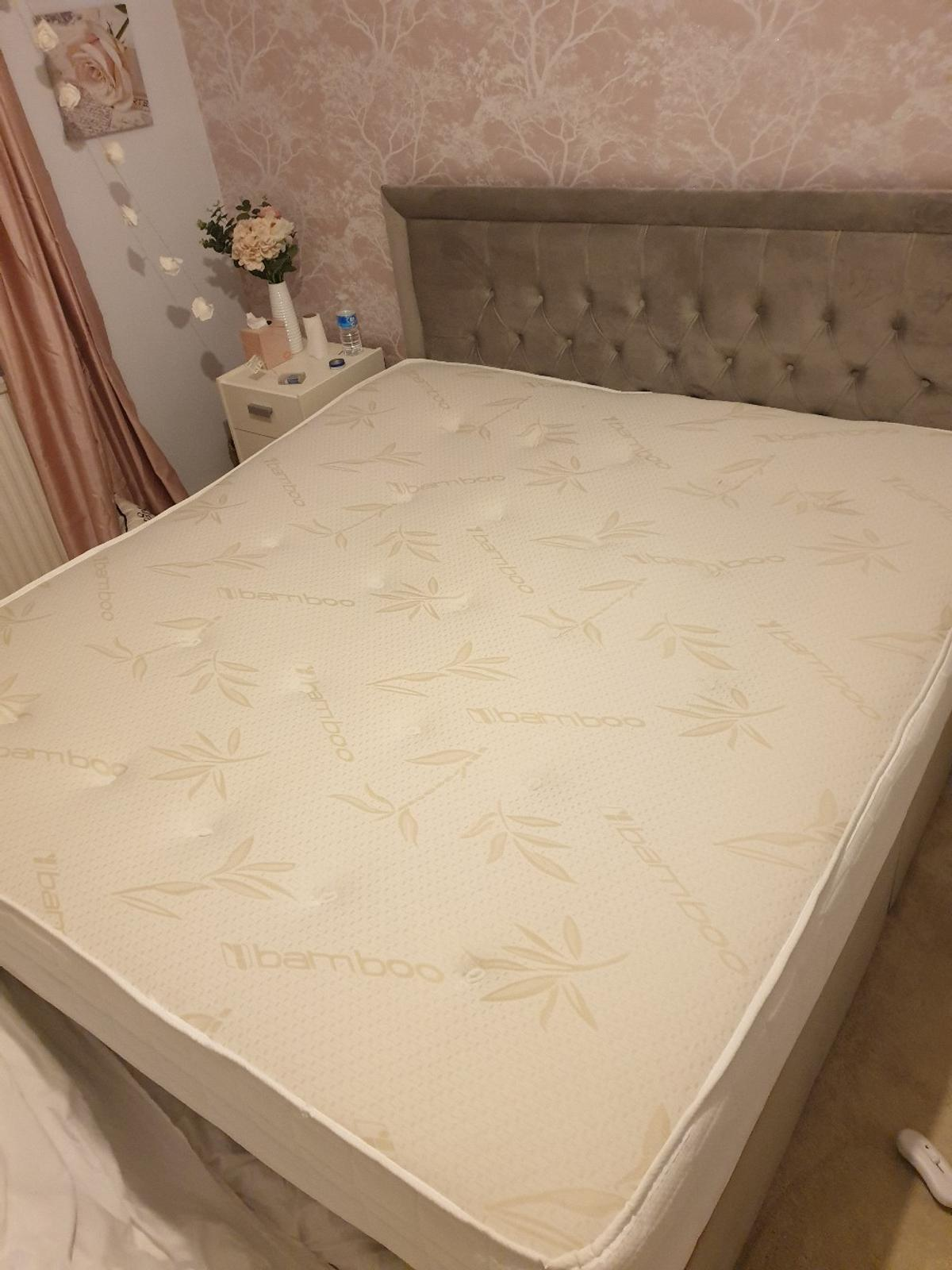 Superking mattress for sale No more than 3months old and always had a topper/protector on. Only selling due to upgrading in the January sales! Smoke & Pet free home, no rips, tears or marks at all.  Collect from Chorley town centre. No delivery.