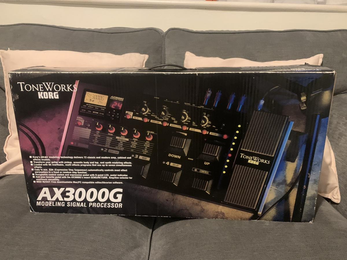Ax3000g modeling signal processor...in box...excellent condition