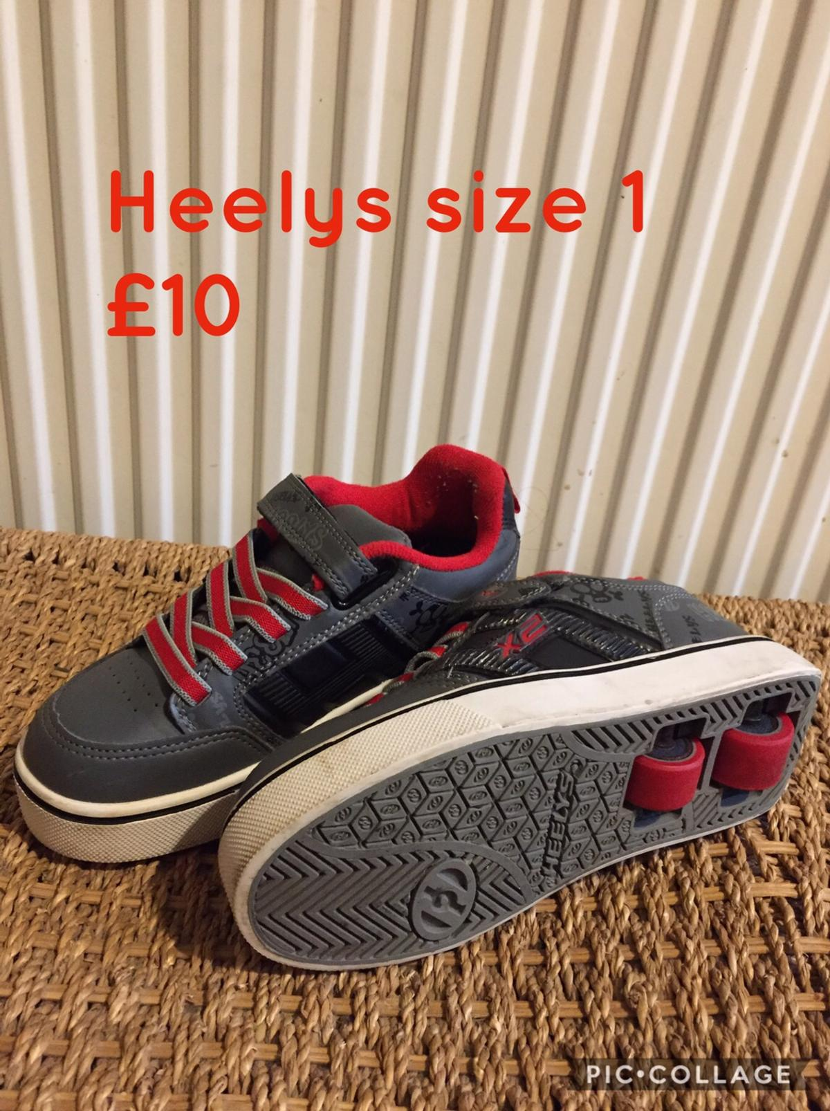 Very good condition Heelys x2 These have two wheels which are easier to balance